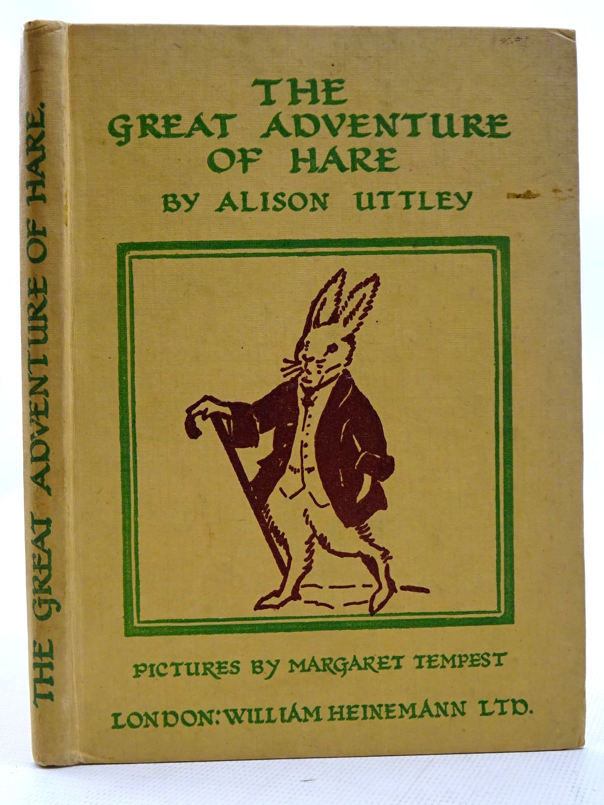 Photo of THE GREAT ADVENTURE OF HARE written by Uttley, Alison illustrated by Tempest, Margaret published by William Heinemann Ltd. (STOCK CODE: 2126415)  for sale by Stella & Rose's Books