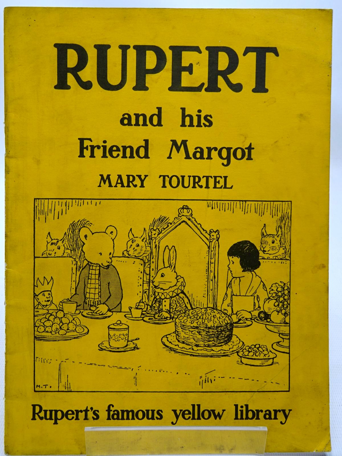 Photo of RUPERT AND HIS FRIEND MARGOT written by Tourtel, Mary illustrated by Tourtel, Mary published by Sampson Low, Marston & Co. (STOCK CODE: 2126420)  for sale by Stella & Rose's Books
