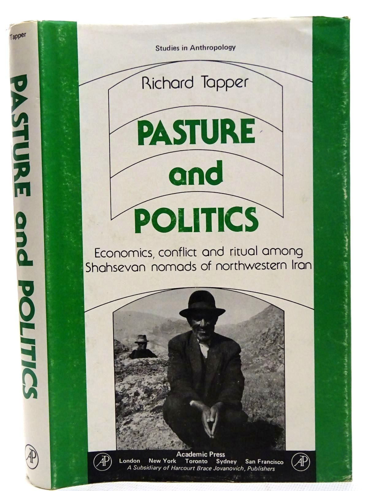 Photo of PASTURE AND POLITICS written by Tapper, Richard published by Academic Press (STOCK CODE: 2126439)  for sale by Stella & Rose's Books