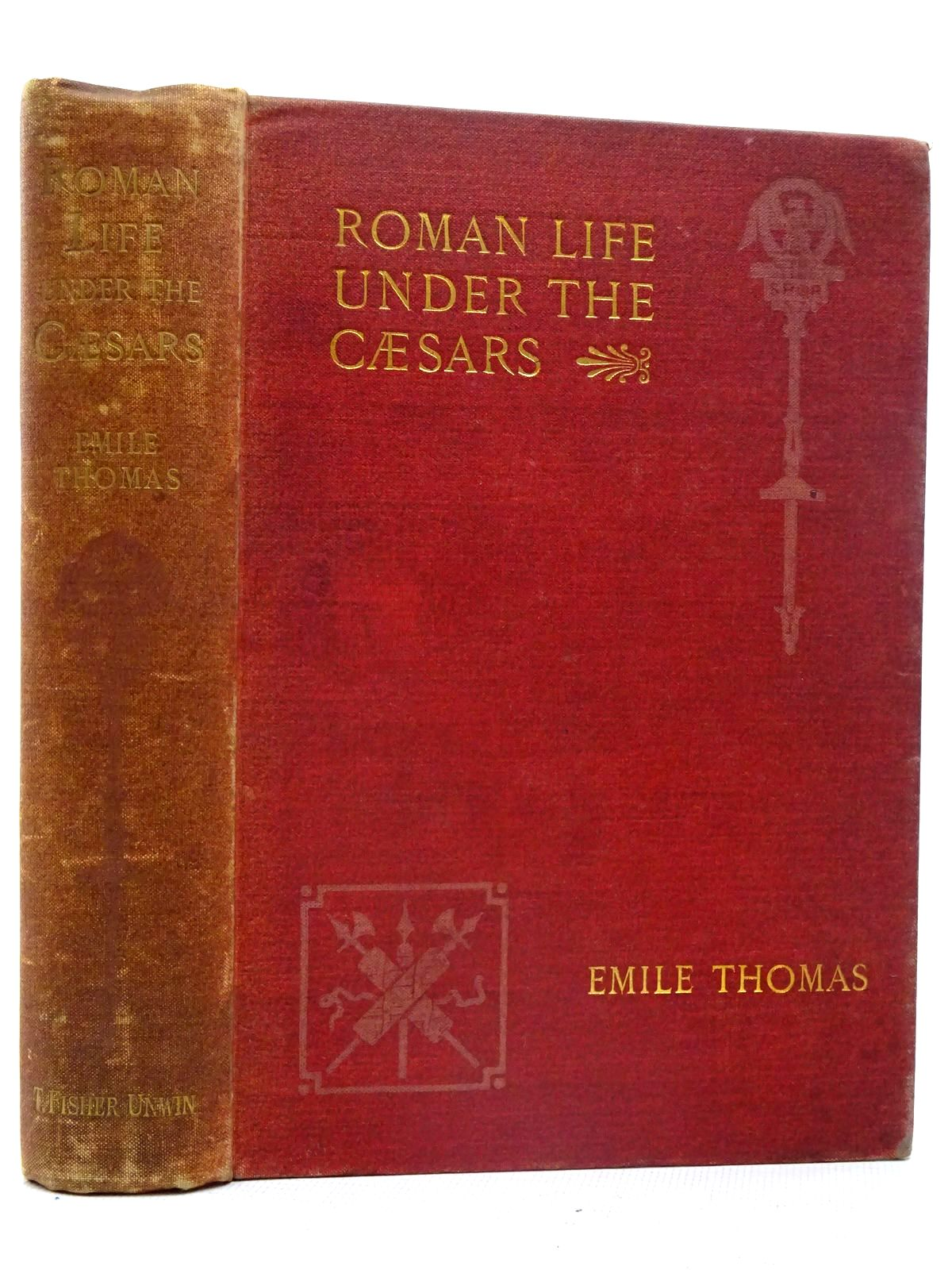 Photo of ROMAN LIFE UNDER THE CAESARS written by Thomas, Emile published by T. Fisher Unwin (STOCK CODE: 2126488)  for sale by Stella & Rose's Books