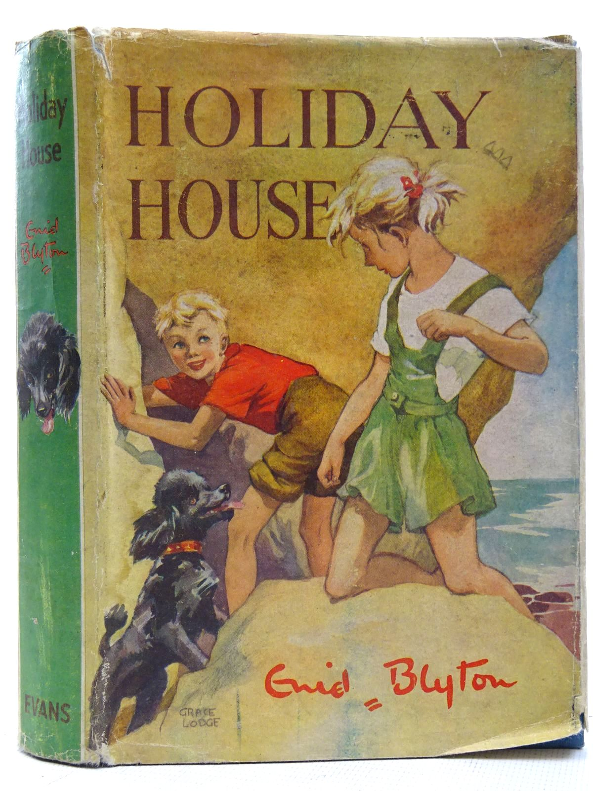 Photo of HOLIDAY HOUSE written by Blyton, Enid illustrated by Lodge, Grace published by Evans Brothers Limited (STOCK CODE: 2126526)  for sale by Stella & Rose's Books