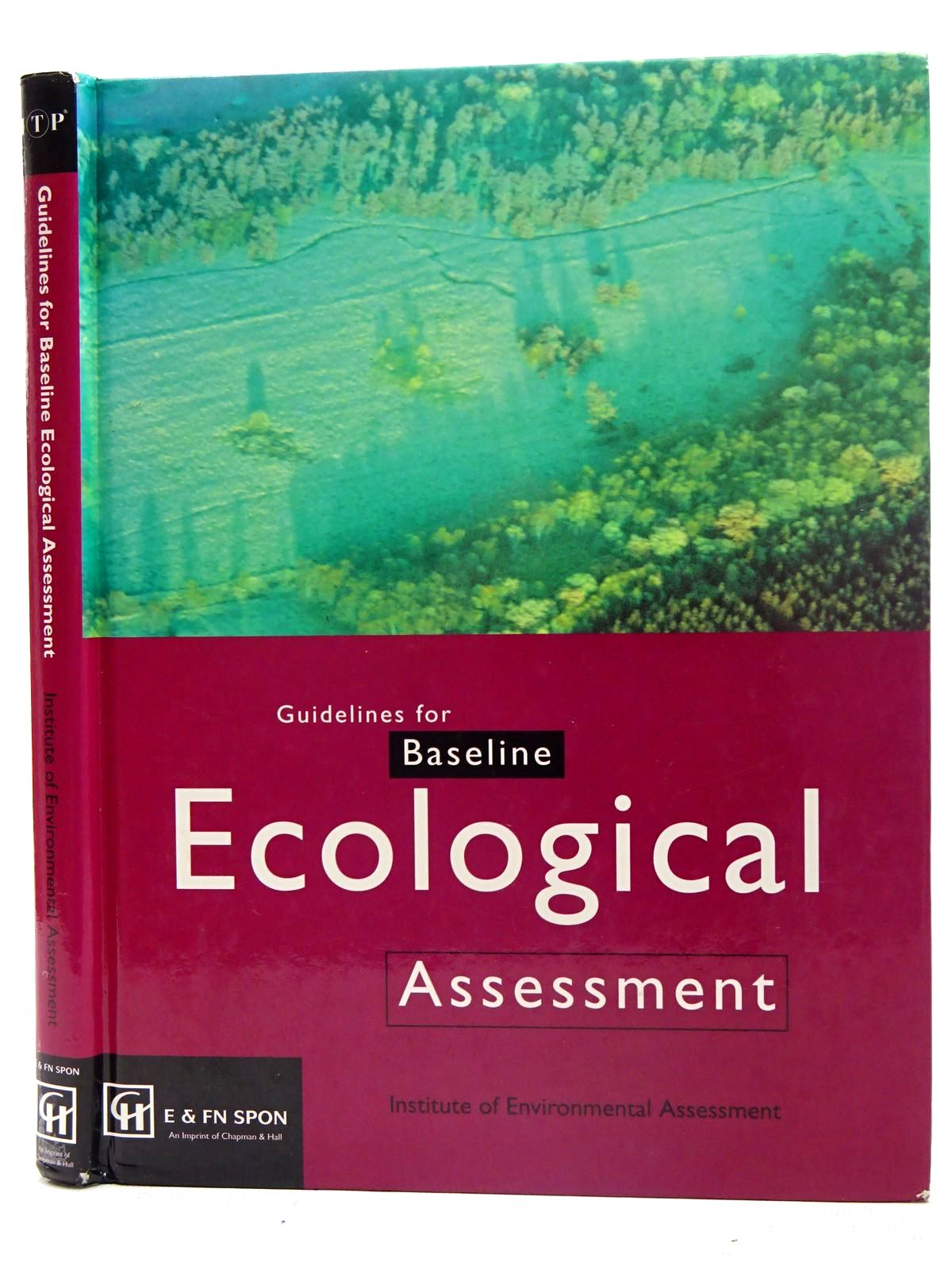 Photo of GUIDELINES FOR BASELINE ECOLOGICAL ASSESSMENT- Stock Number: 2126531