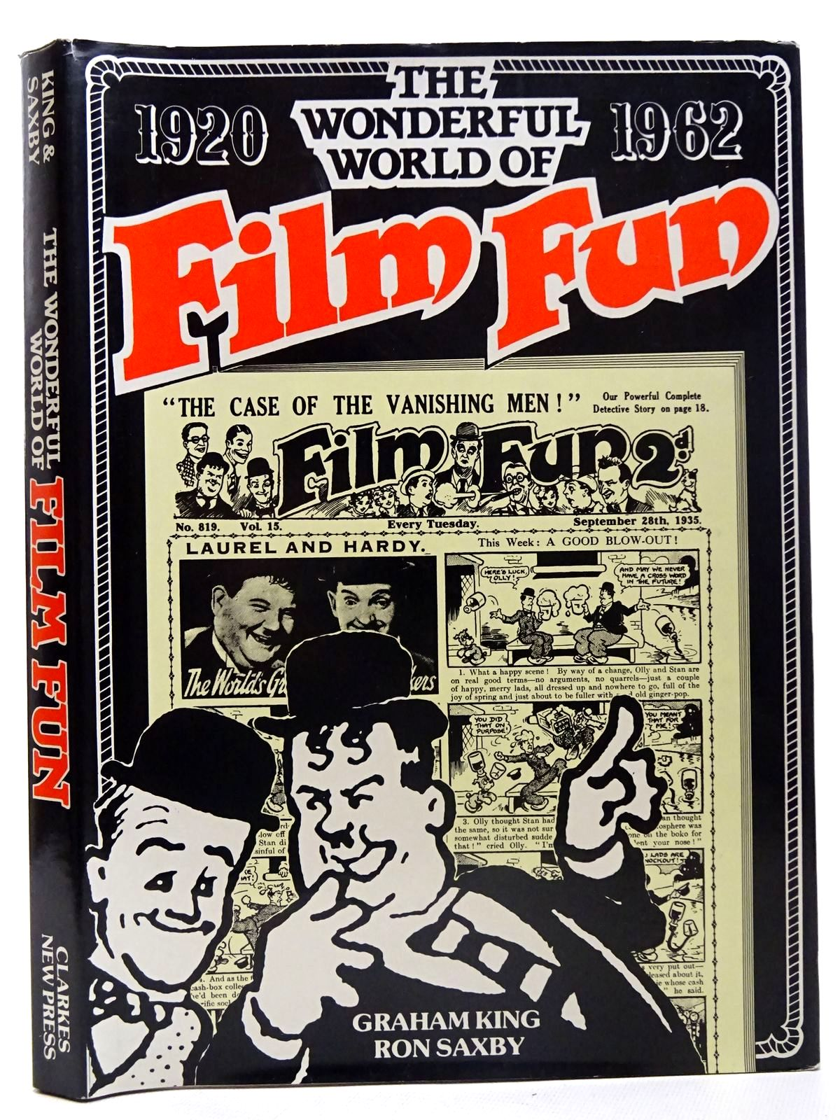 Photo of THE WONDERFUL WORLD OF FILM FUN written by King, Graham illustrated by Saxby, Ronald published by Clarkes New Press (STOCK CODE: 2126538)  for sale by Stella & Rose's Books