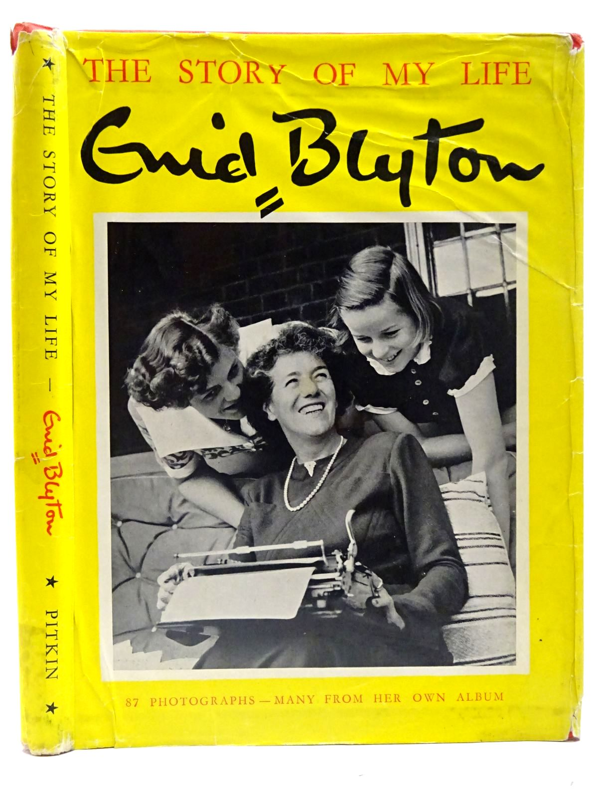 Photo of THE STORY OF MY LIFE written by Blyton, Enid published by Pitkins (STOCK CODE: 2126575)  for sale by Stella & Rose's Books