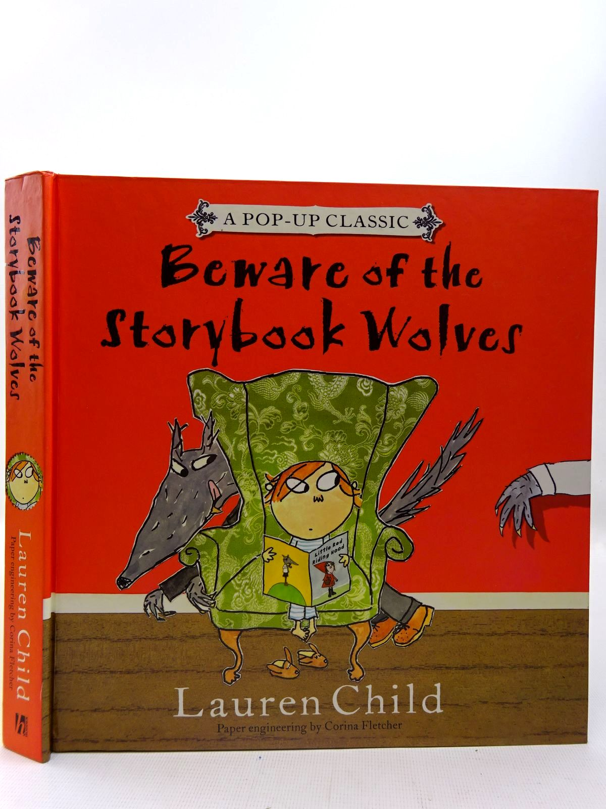 Photo of BEWARE OF THE STORYBOOK WOLVES written by Child, Lauren illustrated by Child, Lauren published by Hodder Children's Books (STOCK CODE: 2126592)  for sale by Stella & Rose's Books
