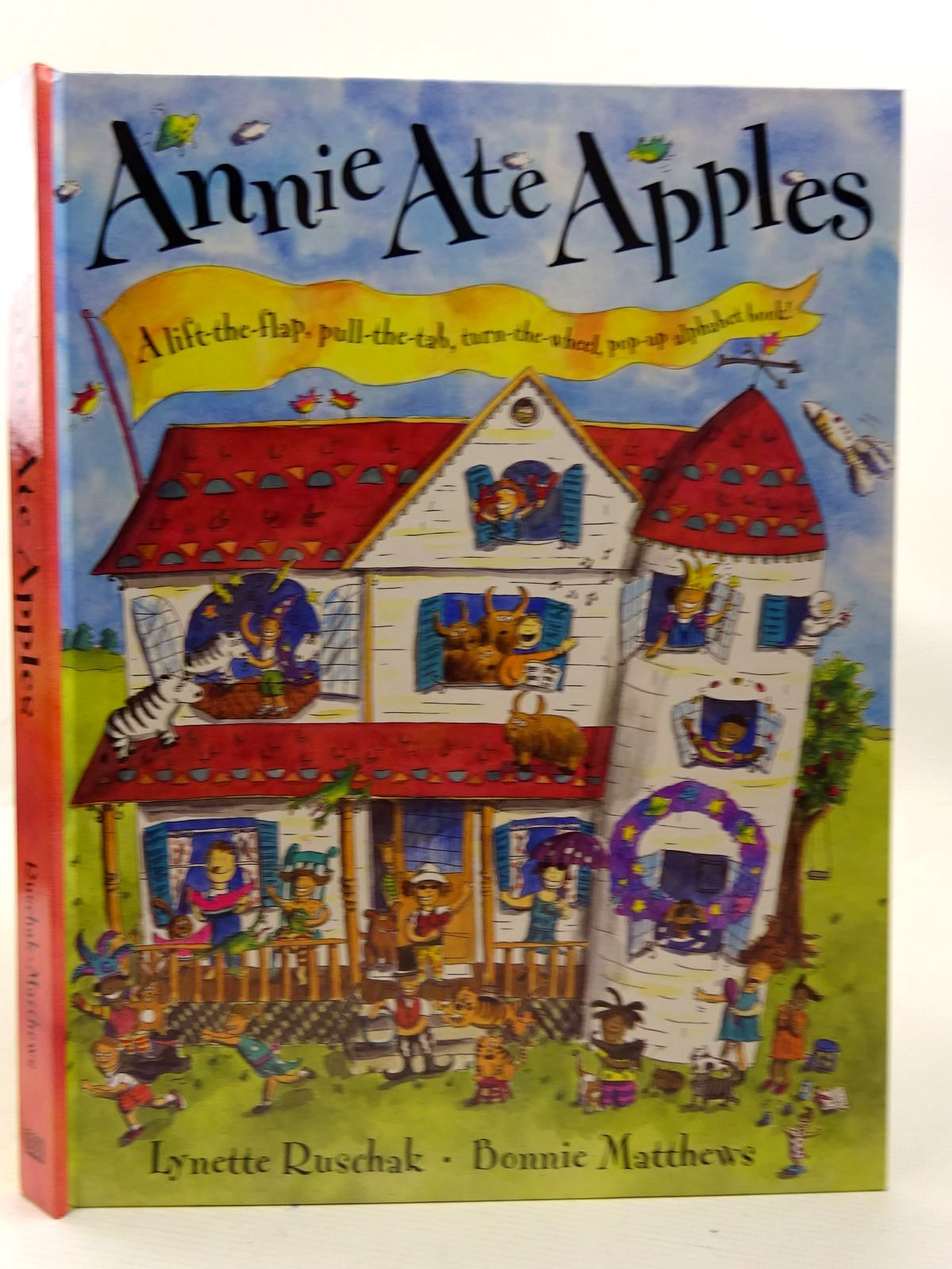Photo of ANNIE ATE APPLES written by Ruschak, Lynette illustrated by Matthews, Bonnie published by Dorling Kindersley (STOCK CODE: 2126594)  for sale by Stella & Rose's Books