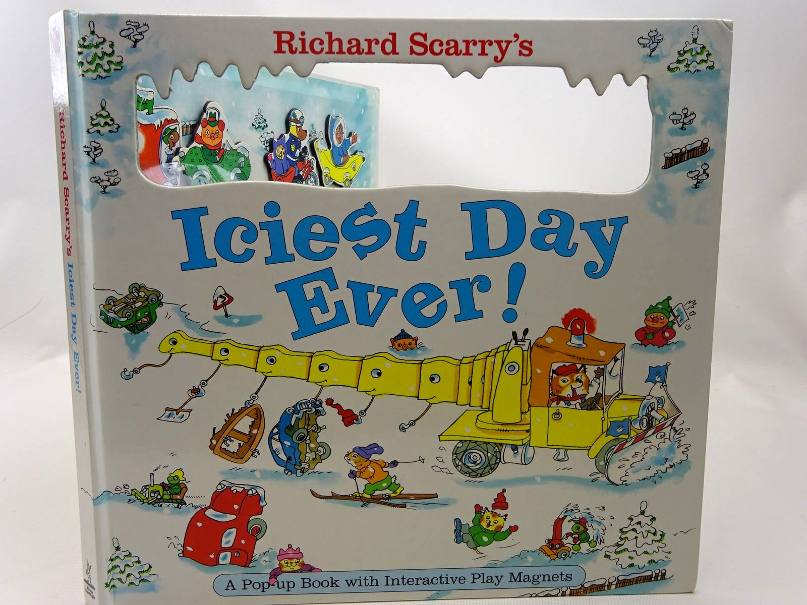 Photo of RICHARD SCARRY'S ICIEST DAY EVER! written by Scarry, Richard illustrated by Scarry, Richard published by Simon Spotlight (STOCK CODE: 2126596)  for sale by Stella & Rose's Books