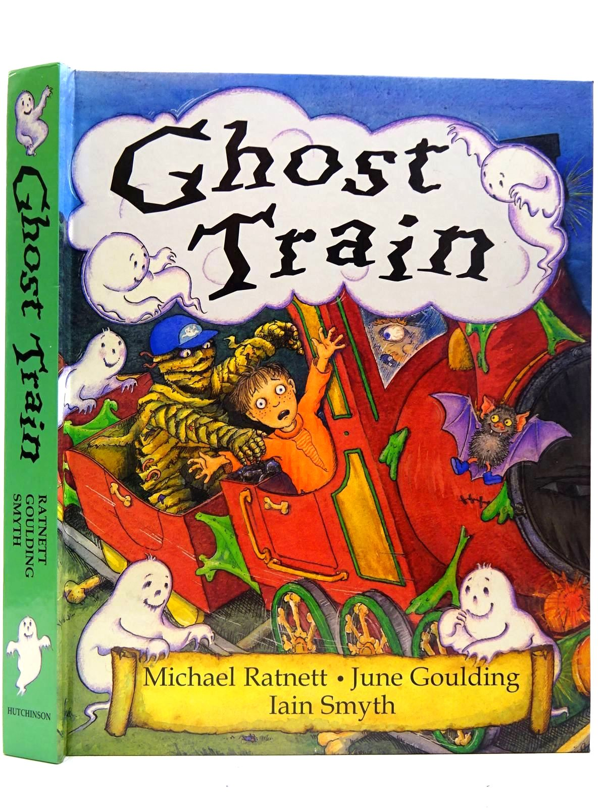 Photo of GHOST TRAIN written by Ratnett, Michael illustrated by Goulding, June published by Hutchinson Children's Books (STOCK CODE: 2126602)  for sale by Stella & Rose's Books