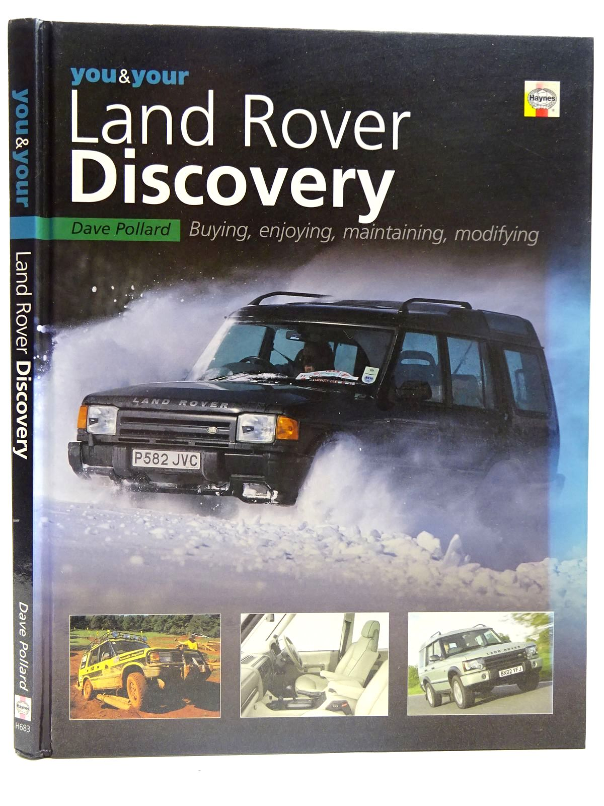 Photo of YOU & YOUR LAND ROVER DISCOVERY written by Pollard, Dave published by Haynes Publishing (STOCK CODE: 2126614)  for sale by Stella & Rose's Books