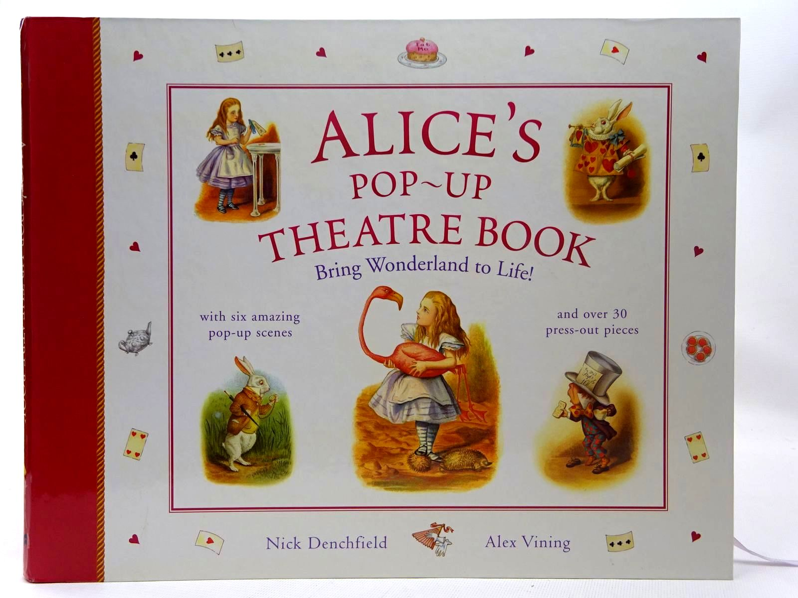 Photo of ALICE'S POP-UP THEATRE BOOK written by Carroll, Lewis Denchfield, Nick illustrated by Vining, Alex published by Macmillan Children's Books (STOCK CODE: 2126638)  for sale by Stella & Rose's Books