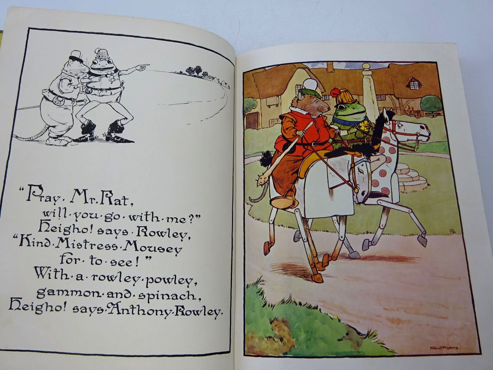 Photo of THE STORY OF THE FROG WHO WOULD A-WOOING GO illustrated by Adams, Frank published by Blackie & Son Ltd. (STOCK CODE: 2126686)  for sale by Stella & Rose's Books