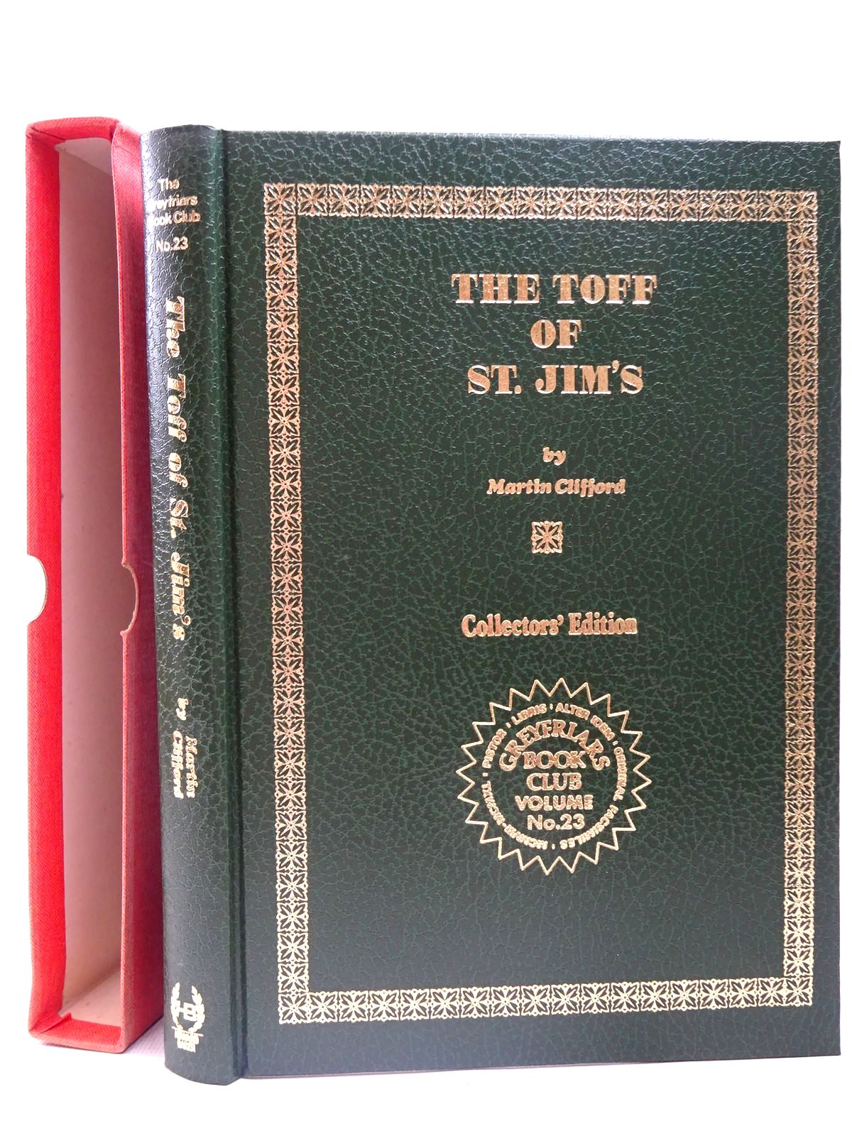 Photo of THE TOFF OF ST. JIM'S written by Richards, Frank Clifford, Martin published by Howard Baker Press (STOCK CODE: 2126716)  for sale by Stella & Rose's Books