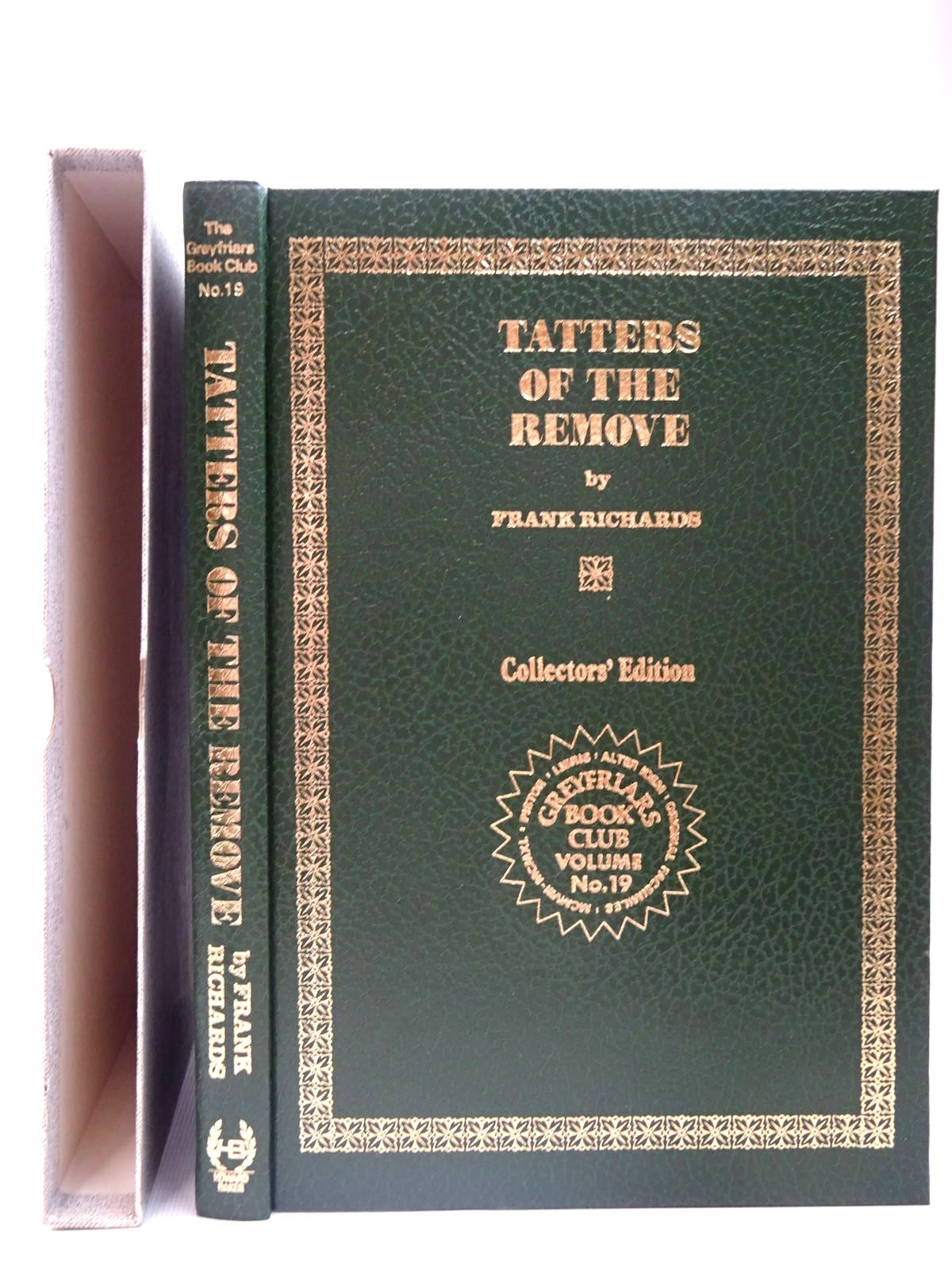 Photo of TATTERS OF THE REMOVE written by Richards, Frank published by Howard Baker (STOCK CODE: 2126726)  for sale by Stella & Rose's Books