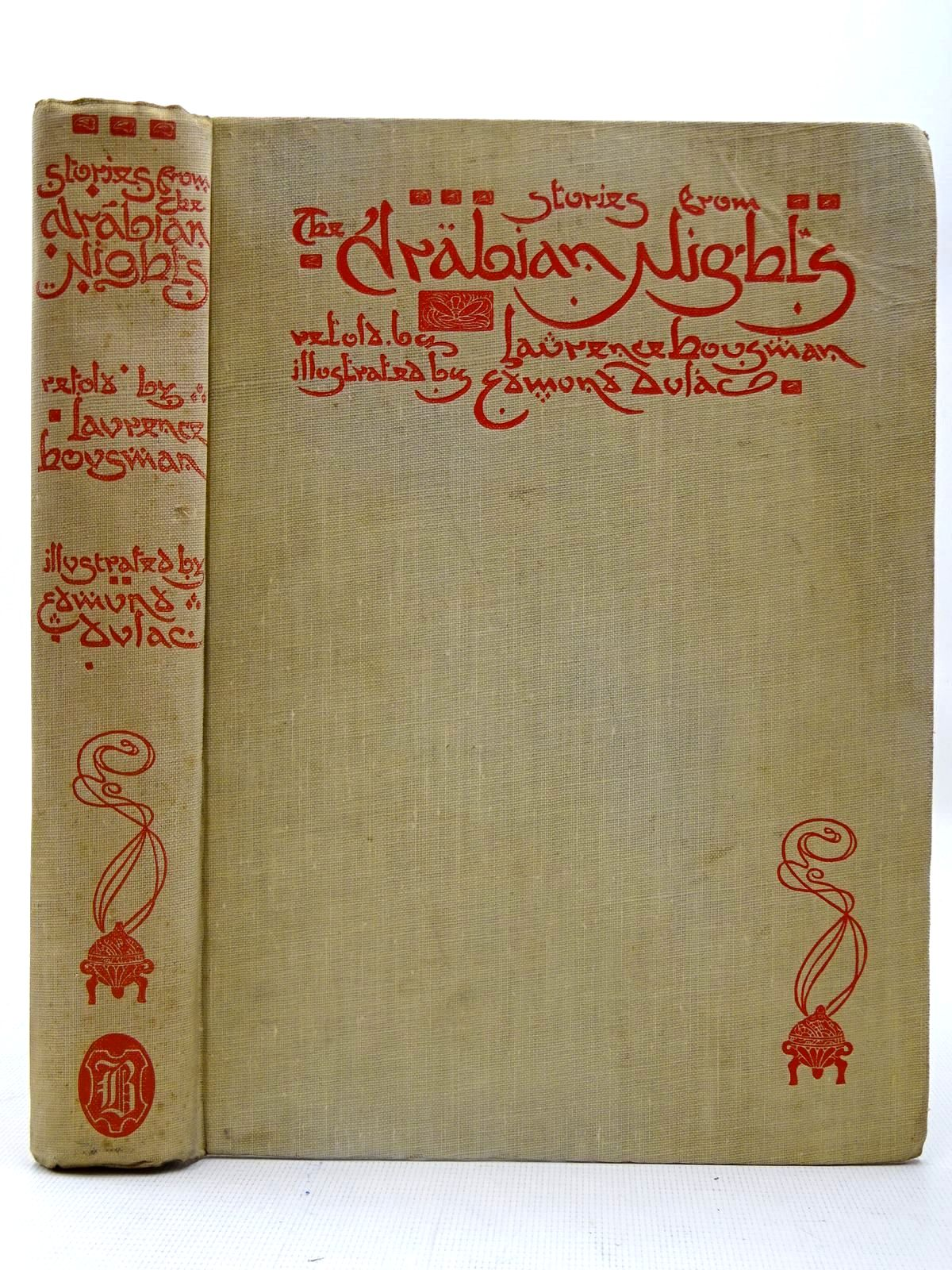 Photo of STORIES FROM THE ARABIAN NIGHTS written by Housman, Laurence illustrated by Dulac, Edmund published by Hodder & Stoughton (STOCK CODE: 2126736)  for sale by Stella & Rose's Books