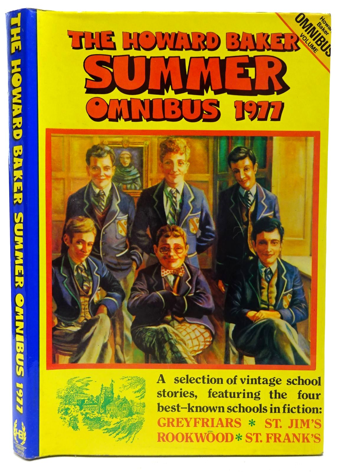 Photo of THE HOWARD BAKER SUMMER OMNIBUS 1977 written by Clifford, Martin Richards, Frank published by Howard Baker (STOCK CODE: 2126759)  for sale by Stella & Rose's Books