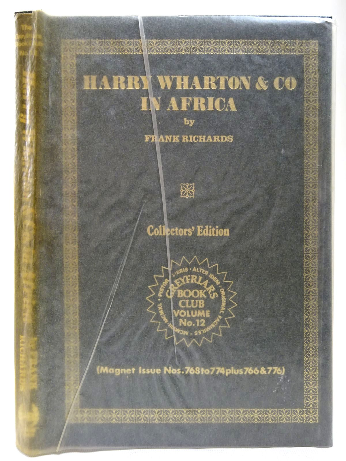 Photo of HARRY WHARTON & CO IN AFRICA written by Richards, Frank published by Howard Baker Press (STOCK CODE: 2126776)  for sale by Stella & Rose's Books