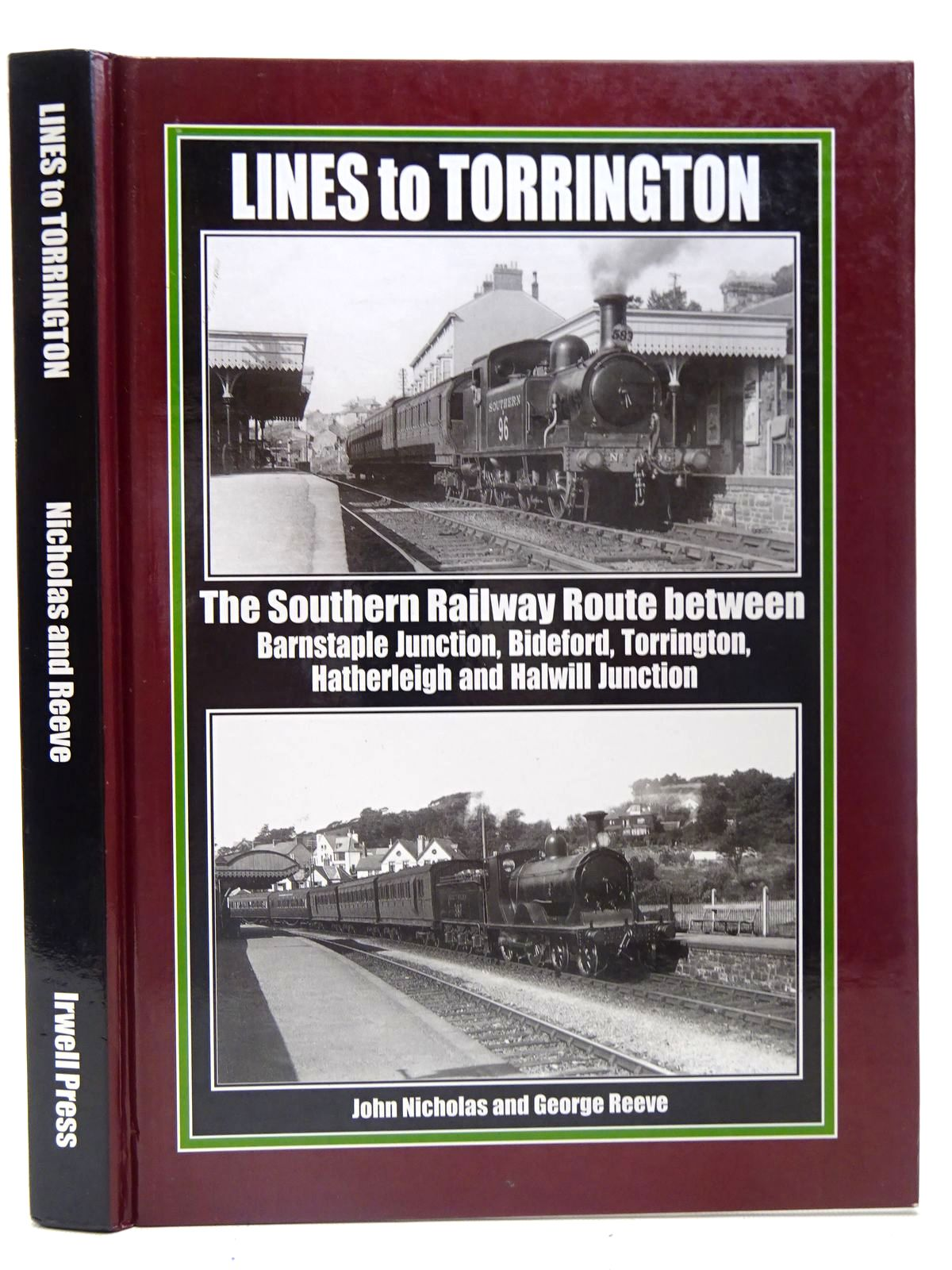 Photo of LINES TO TORRINGTON written by Nicholas, John Reeve, George published by Irwell Press (STOCK CODE: 2126791)  for sale by Stella & Rose's Books