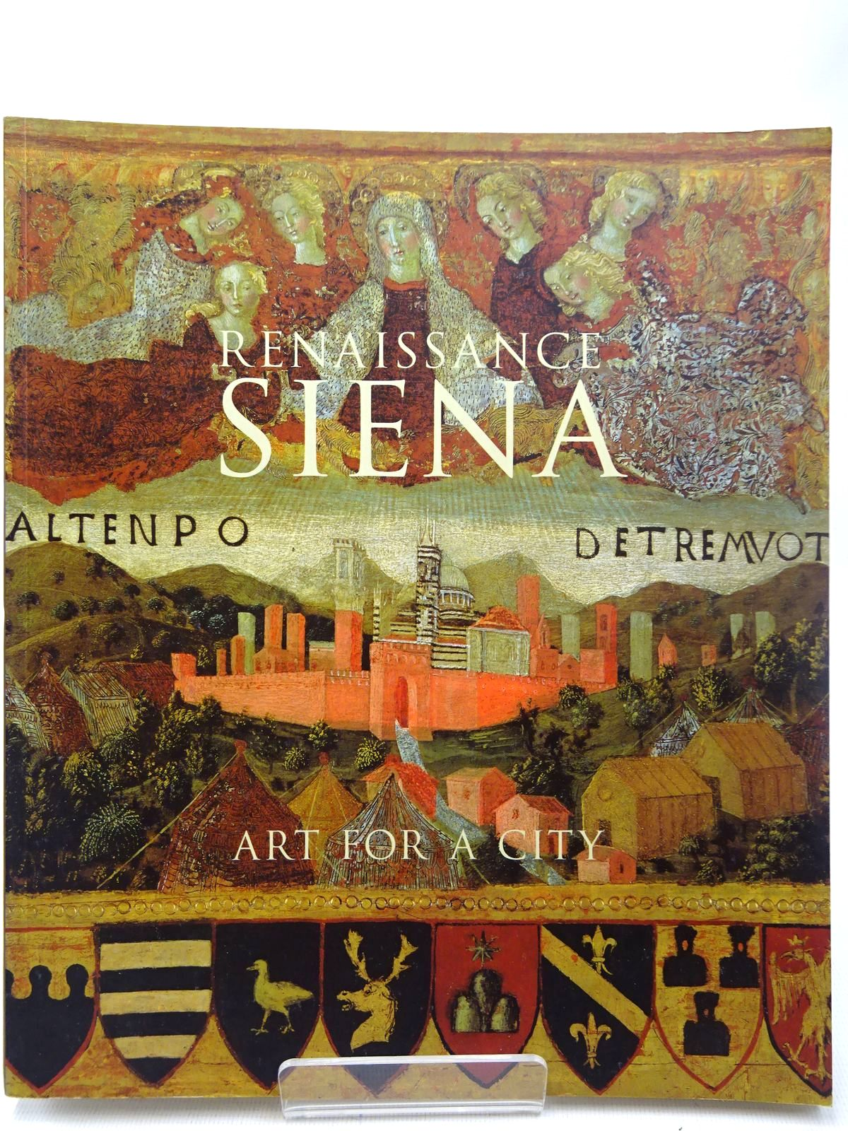 Photo of RENAISSANCE SIENA ART FOR A CITY written by Syson, Luke Angelini, Alessandro Jackson, Philippa Nevola, Fabrizio Plazzotta, Carol et al, published by National Gallery Company Limited (STOCK CODE: 2126834)  for sale by Stella & Rose's Books