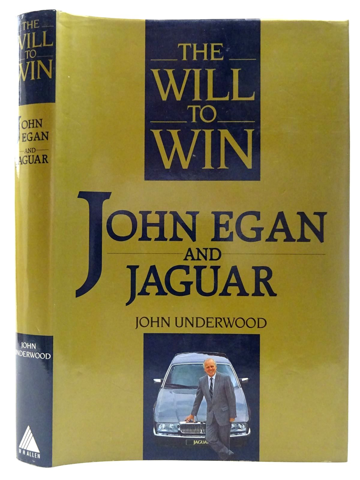 Photo of THE WILL TO WIN JOHN EGAN AND JAGUAR- Stock Number: 2126838