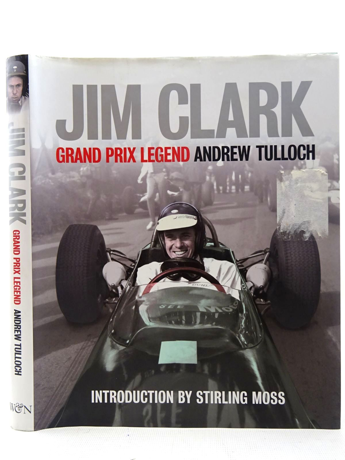Photo of JIM CLARK GRAND PRIX LEGEND written by Tulloch, Andrew published by Weidenfeld and Nicolson (STOCK CODE: 2126875)  for sale by Stella & Rose's Books