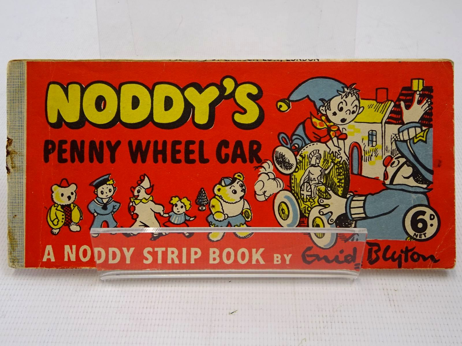 Photo of NODDY'S PENNY WHEEL CAR written by Blyton, Enid published by Sampson Low (STOCK CODE: 2126899)  for sale by Stella & Rose's Books