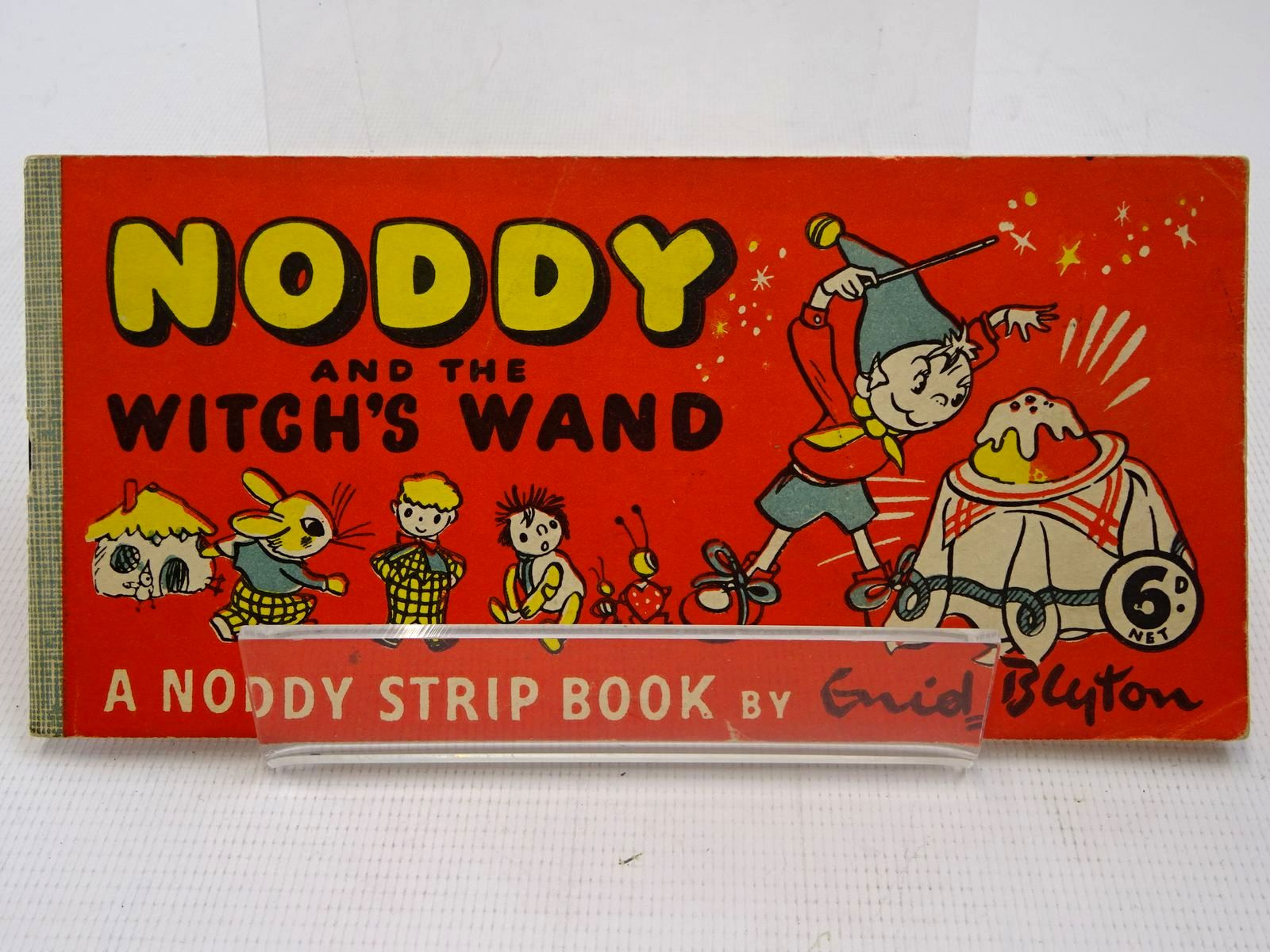 Photo of NODDY AND THE WITCH'S WAND written by Blyton, Enid published by Sampson Low (STOCK CODE: 2126900)  for sale by Stella & Rose's Books