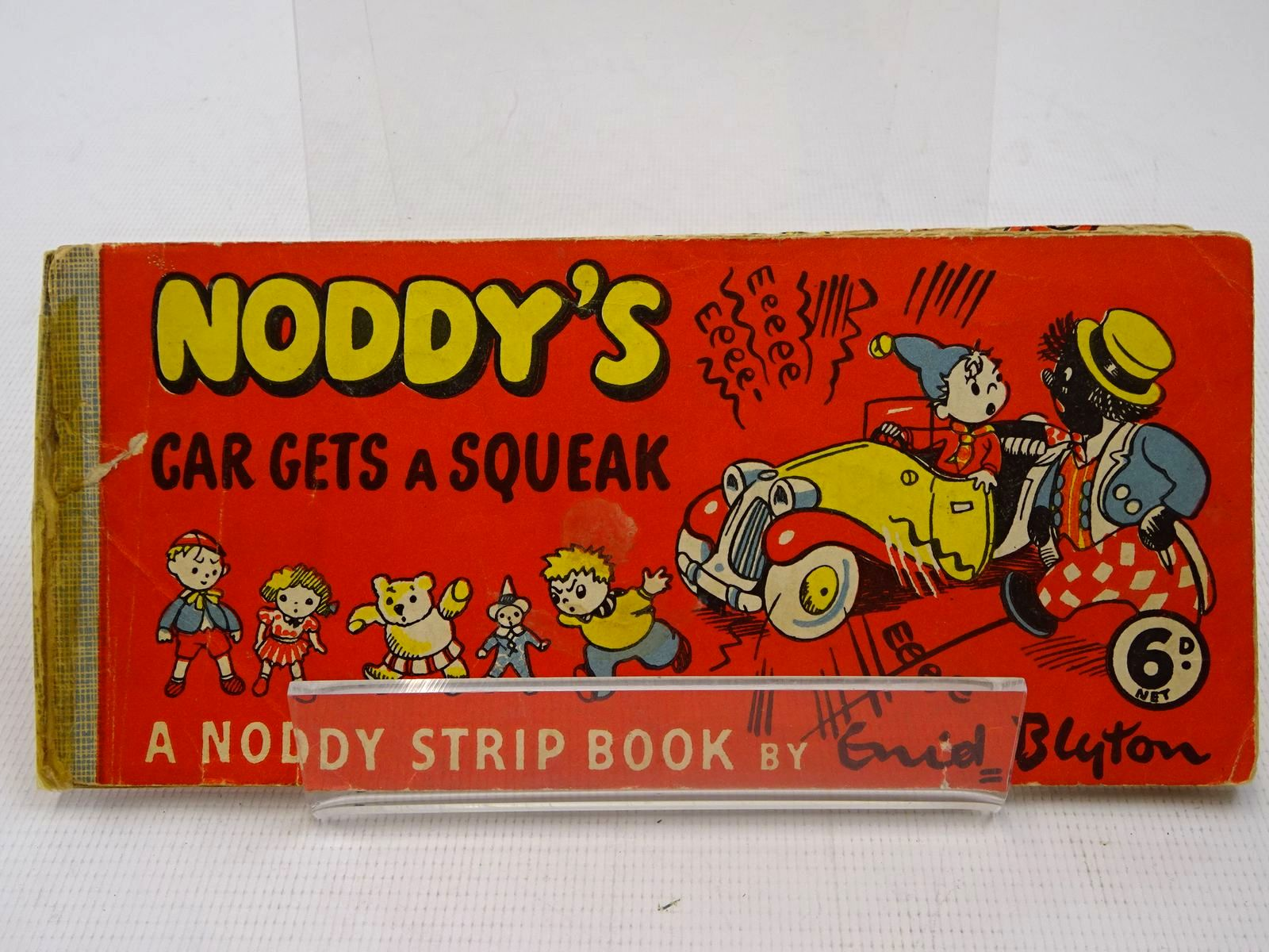 Photo of NODDY'S CAR GETS A SQUEAK written by Blyton, Enid published by Sampson Low (STOCK CODE: 2126901)  for sale by Stella & Rose's Books