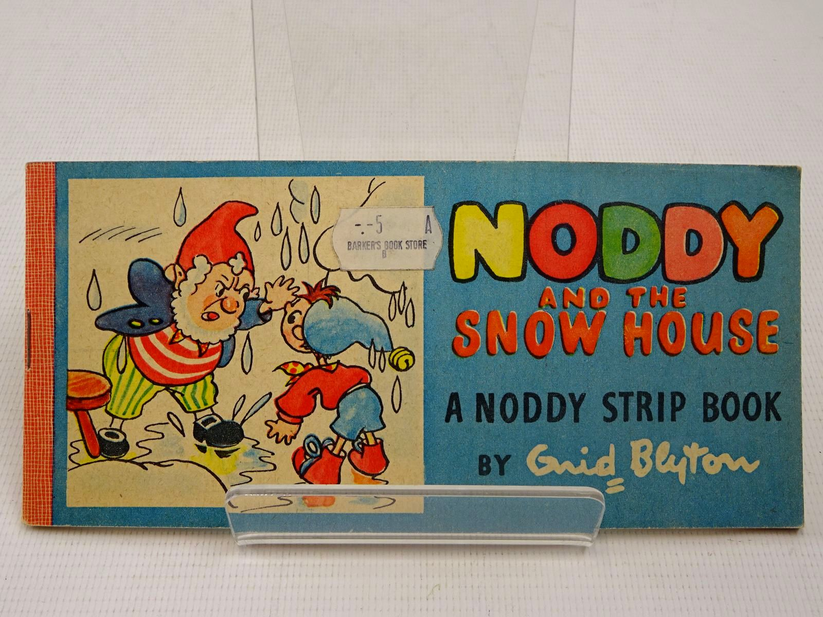 Photo of NODDY AND THE SNOW HOUSE written by Blyton, Enid illustrated by Beek,  published by Sampson Low, Marston & Co. (STOCK CODE: 2126903)  for sale by Stella & Rose's Books