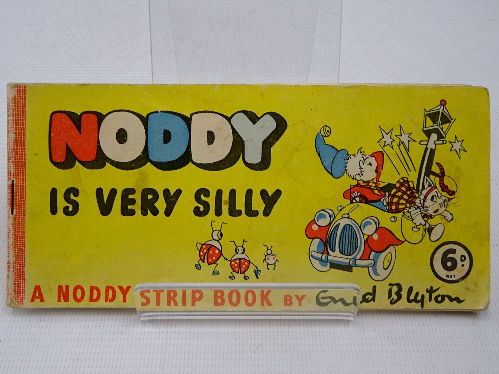 Photo of NODDY IS VERY SILLY written by Blyton, Enid illustrated by Beek,  published by Sampson Low (STOCK CODE: 2126904)  for sale by Stella & Rose's Books