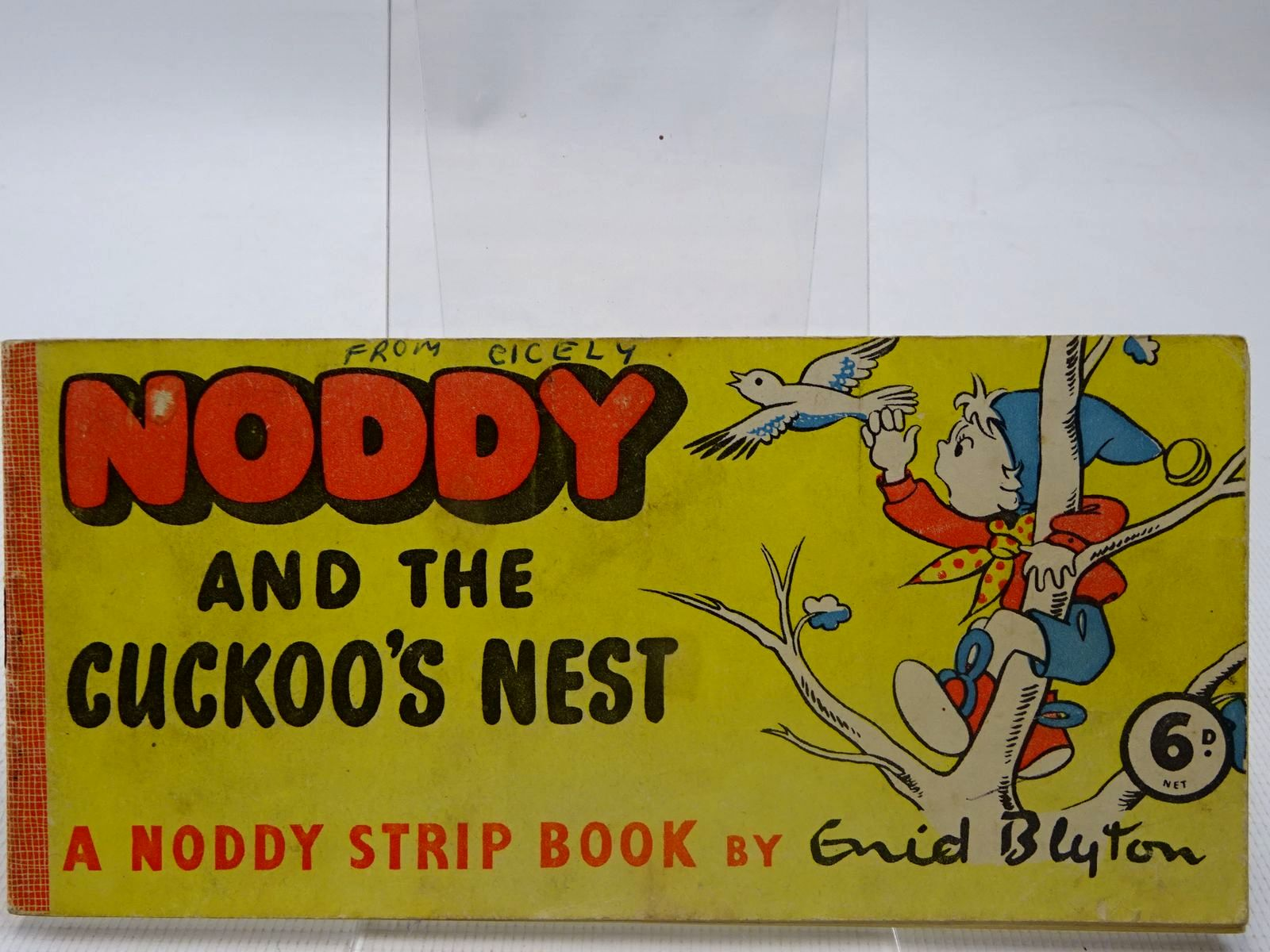 Photo of NODDY AND THE CUCKOO'S NEST written by Blyton, Enid illustrated by Beek,  published by Sampson Low (STOCK CODE: 2126905)  for sale by Stella & Rose's Books