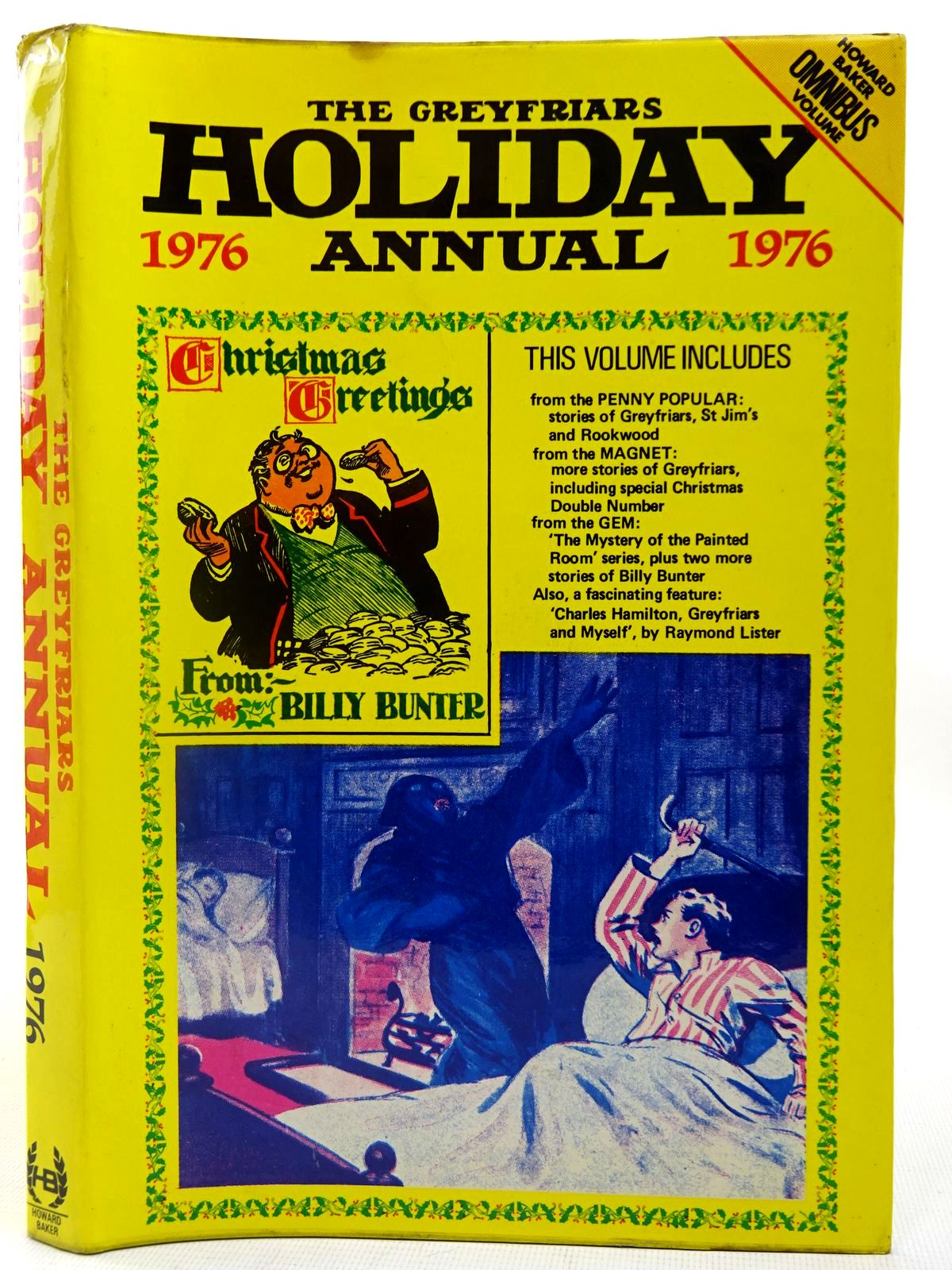 Photo of THE GREYFRIARS HOLIDAY ANNUAL 1976 written by Richards, Frank Todd, Peter Clifford, Martin et al,  published by Howard Baker Press (STOCK CODE: 2126979)  for sale by Stella & Rose's Books