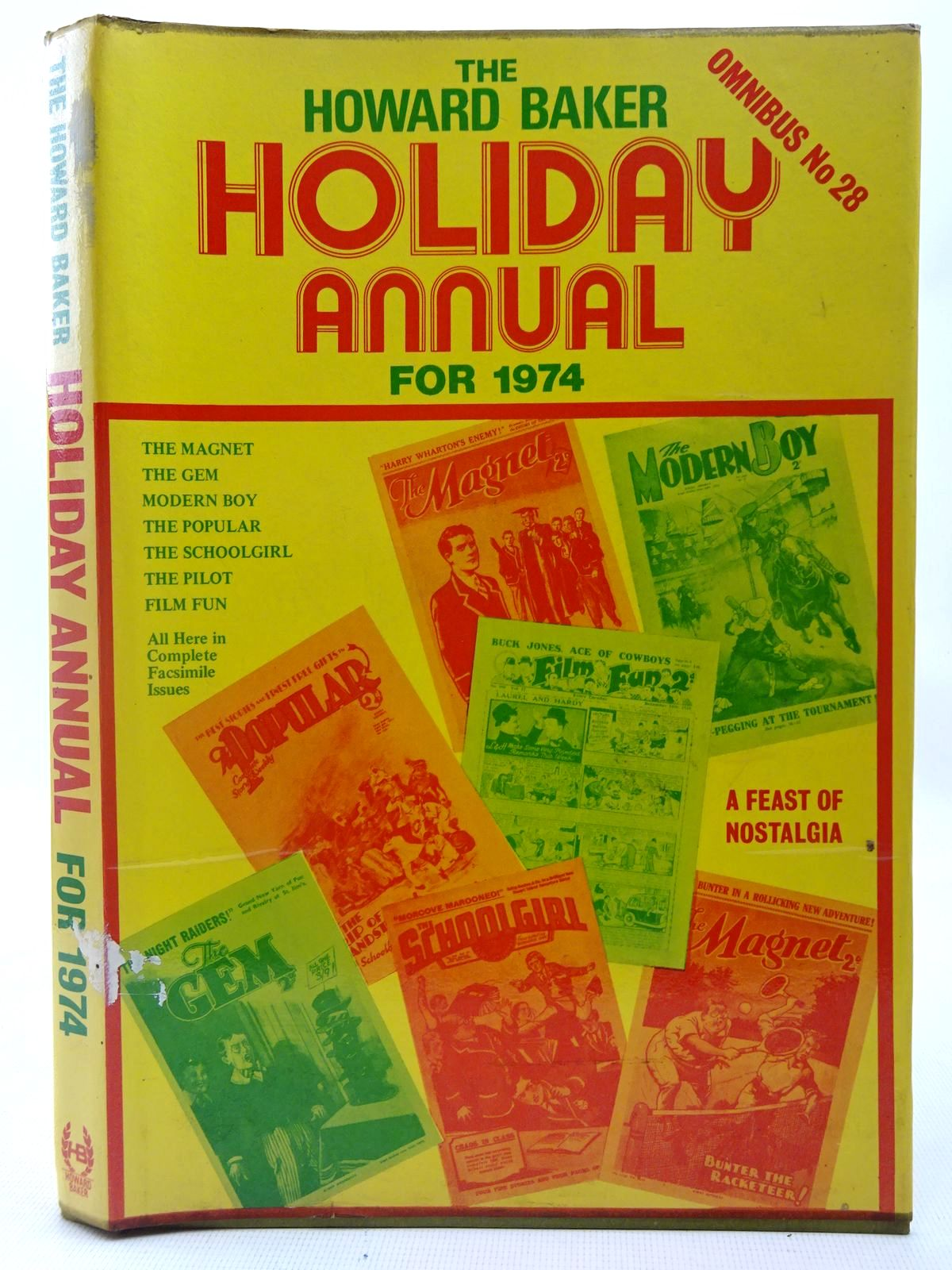 Photo of THE HOWARD BAKER HOLIDAY ANNUAL FOR 1974 written by Richards, Frank Richards, Hilda et al, published by Howard Baker (STOCK CODE: 2126980)  for sale by Stella & Rose's Books