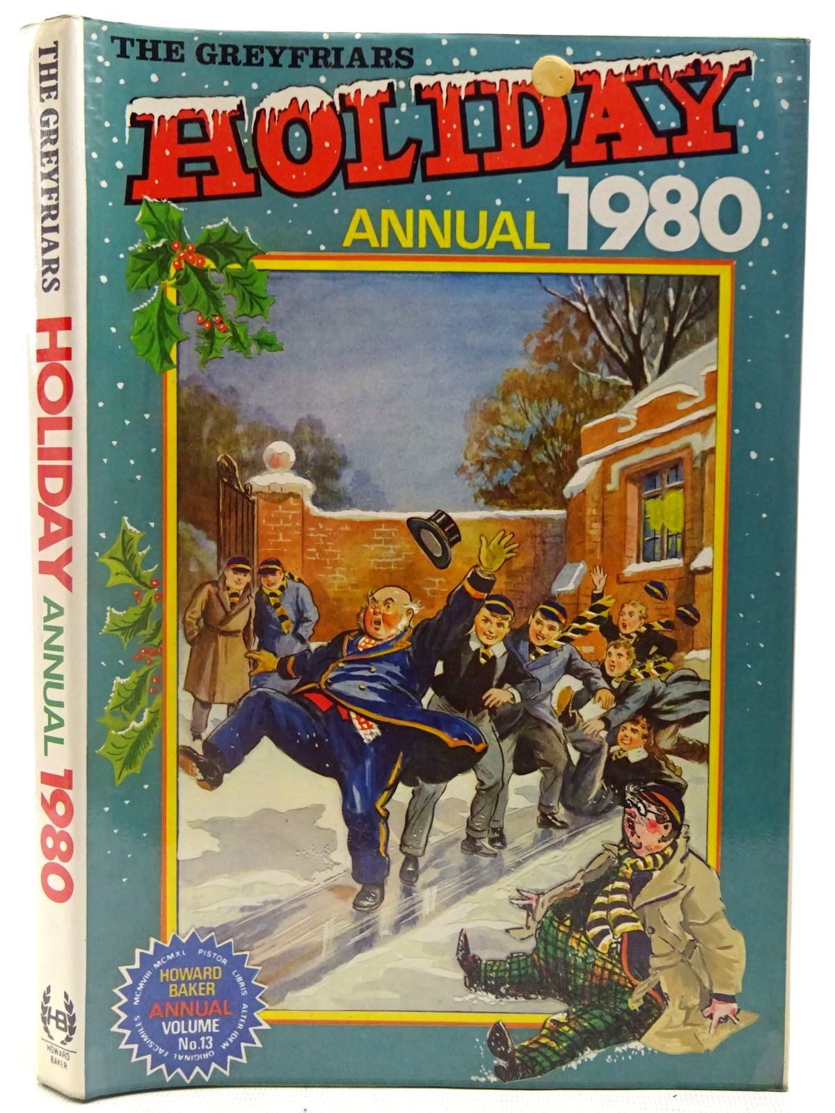 Photo of THE GREYFRIARS HOLIDAY ANNUAL 1980 written by Richards, Frank published by Howard Baker Press (STOCK CODE: 2126983)  for sale by Stella & Rose's Books