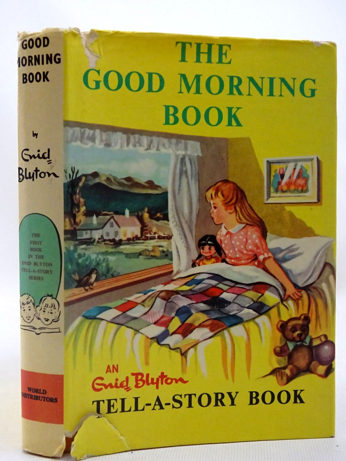 Photo of ENID BLYTON'S GOOD MORNING BOOK written by Blyton, Enid illustrated by Johnson, Joyce published by World Distributors Ltd. (STOCK CODE: 2127068)  for sale by Stella & Rose's Books
