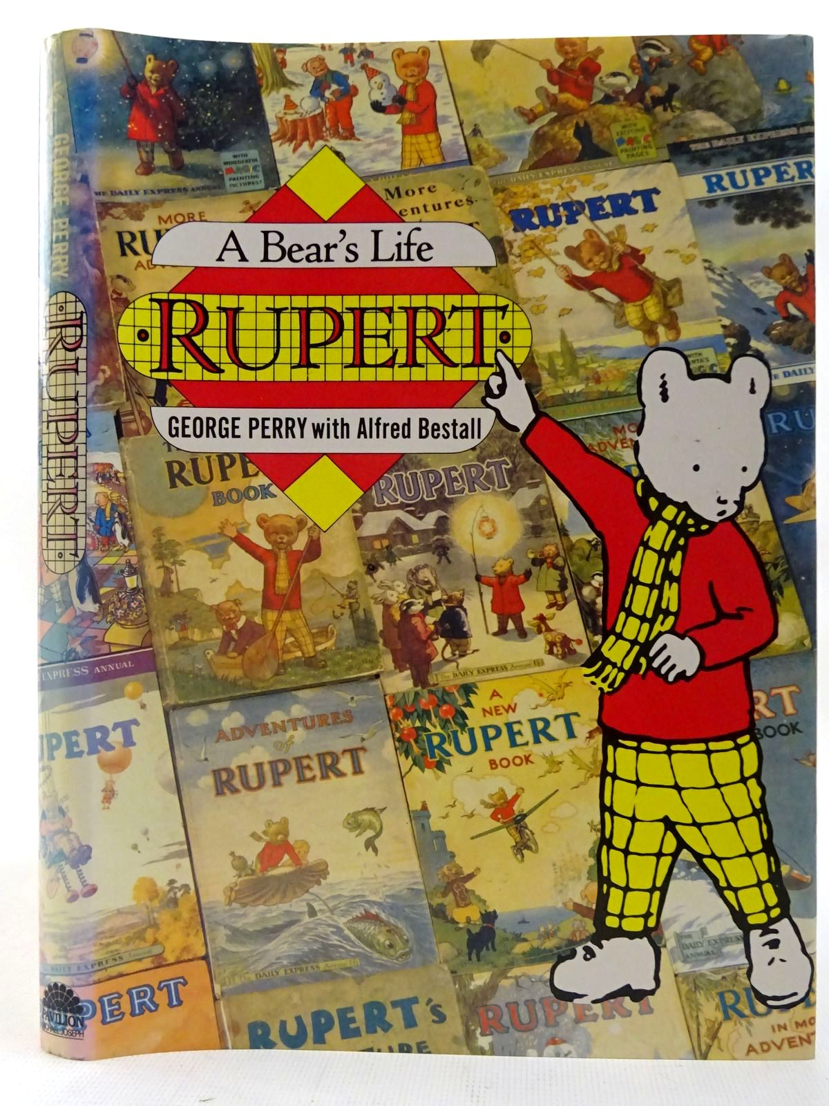 Photo of RUPERT A BEAR'S LIFE written by Perry, George illustrated by Bestall, Alfred published by Pavilion Books, Michael Joseph (STOCK CODE: 2127084)  for sale by Stella & Rose's Books
