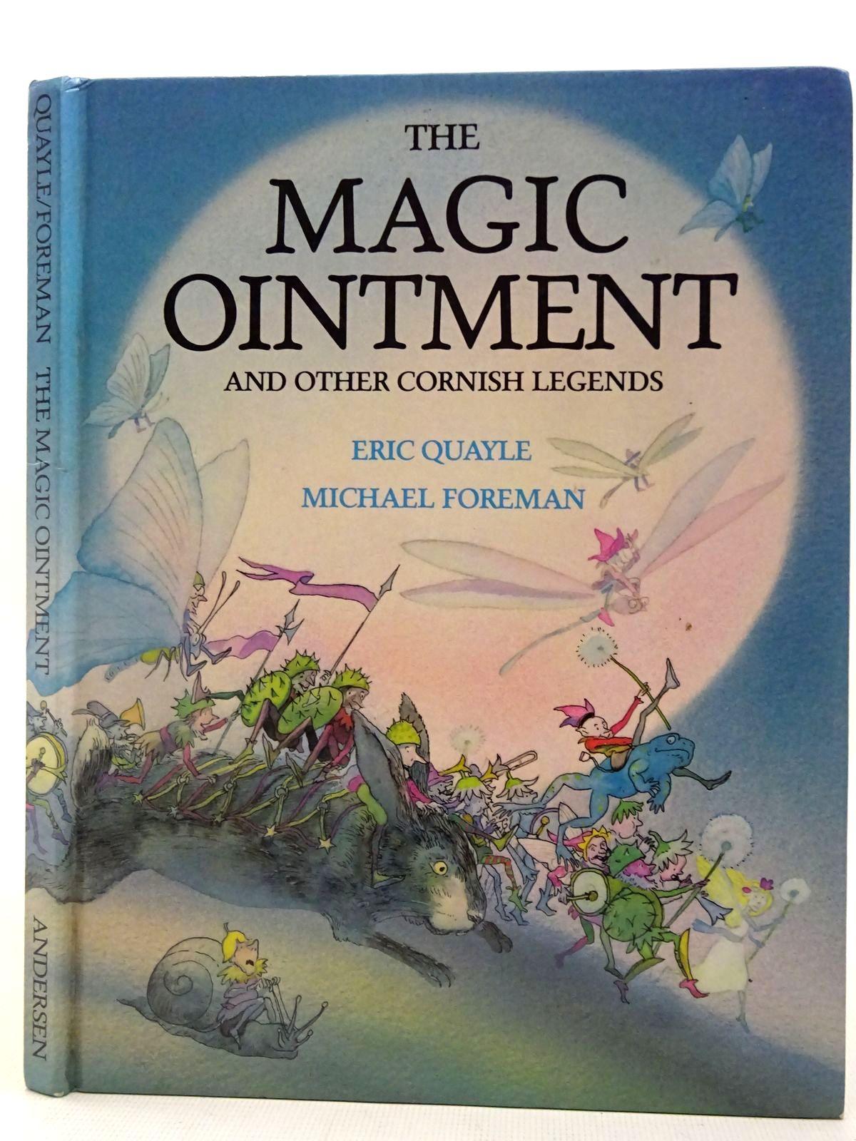 Photo of THE MAGIC OINTMENT AND OTHER CORNISH LEGENDS- Stock Number: 2127085