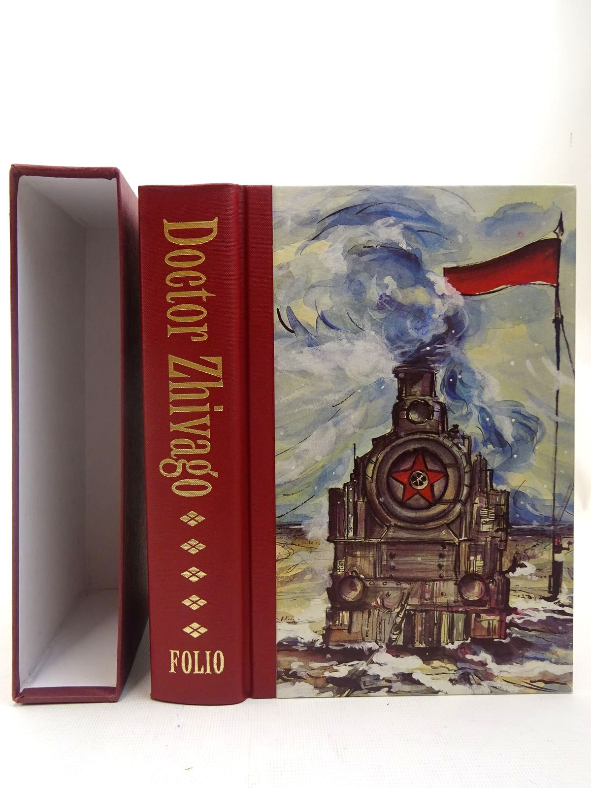 Photo of DOCTOR ZHIVAGO written by Pasternak, Boris illustrated by Bour, Veronique published by Folio Society (STOCK CODE: 2127162)  for sale by Stella & Rose's Books