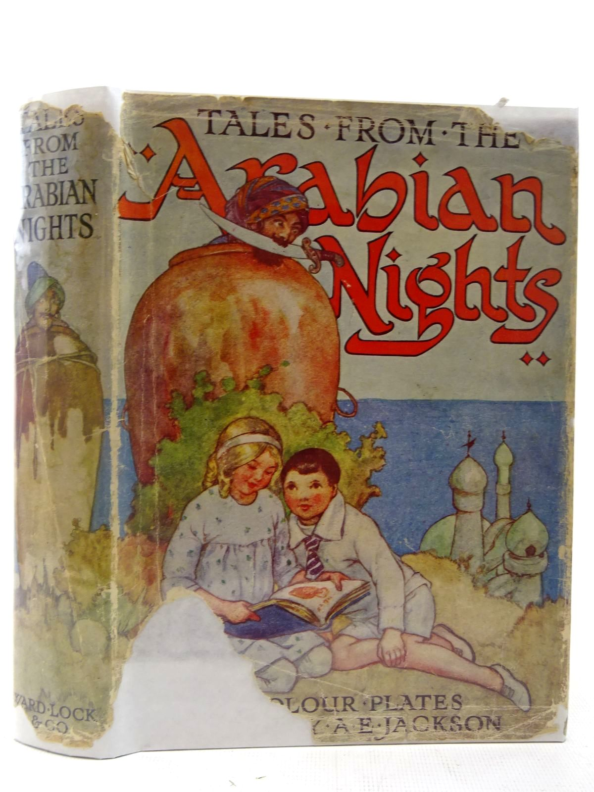 Photo of TALES FROM THE ARABIAN NIGHTS illustrated by Jackson, A.E. published by Ward, Lock & Co. Ltd. (STOCK CODE: 2127181)  for sale by Stella & Rose's Books