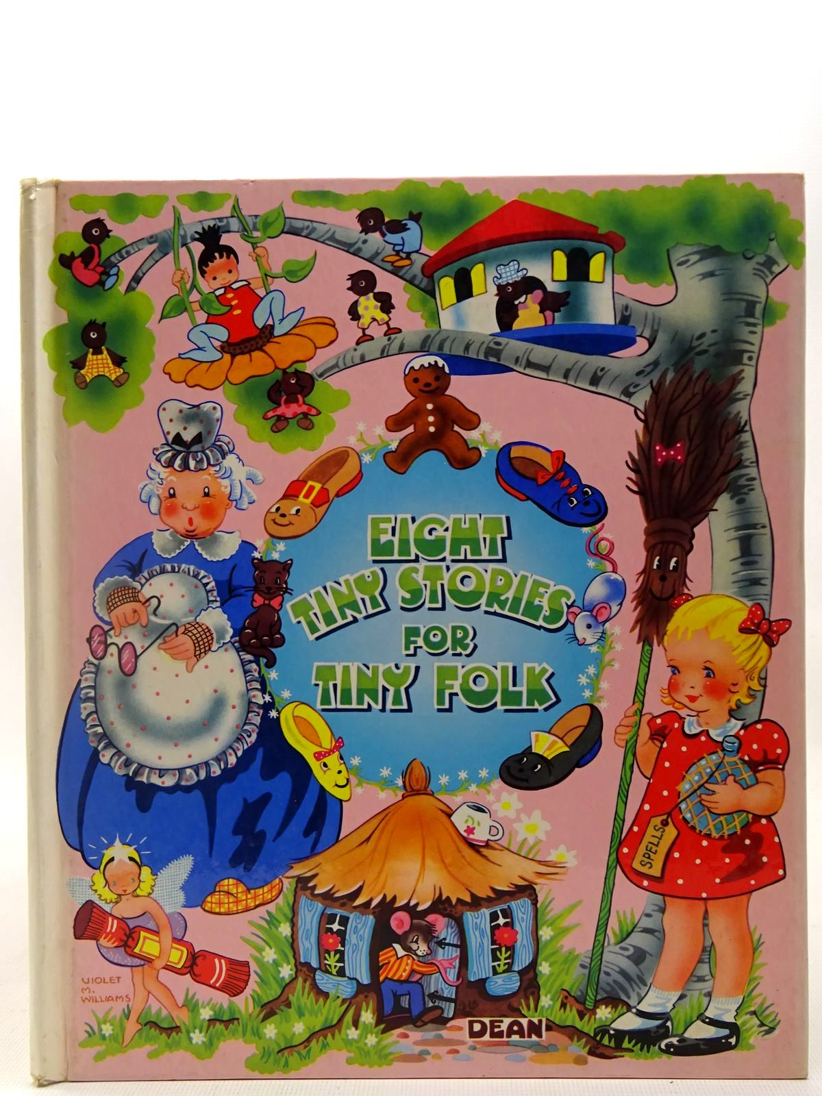 Photo of EIGHT TINY STORIES FOR TINY FOLK written by Williams, Violet M. illustrated by Williams, Violet M. published by Dean & Son Ltd. (STOCK CODE: 2127210)  for sale by Stella & Rose's Books