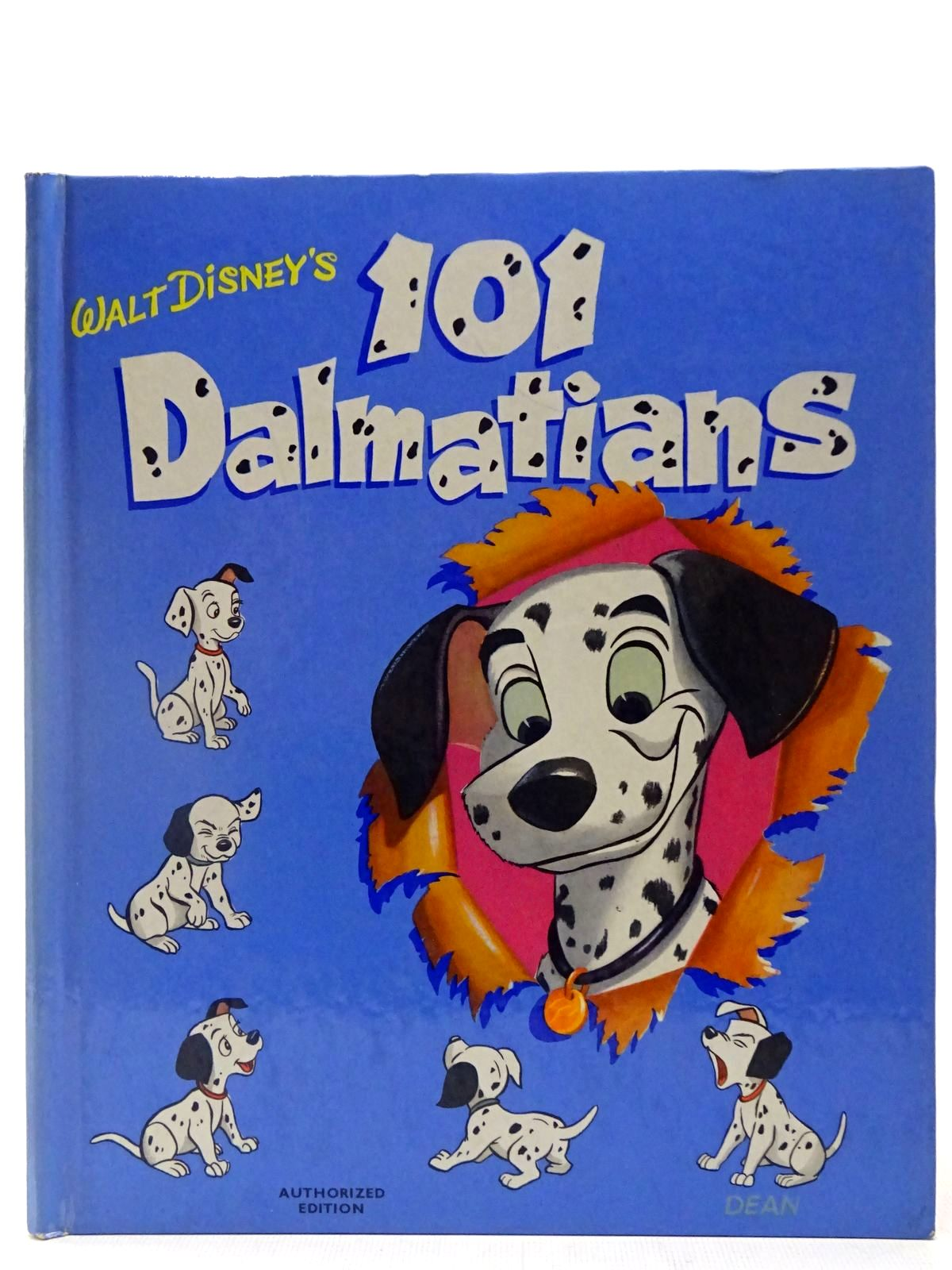 Photo of WALT DISNEY'S 101 DALMATIONS written by Disney, Walt illustrated by Disney, Walt published by Dean & Son Ltd. (STOCK CODE: 2127211)  for sale by Stella & Rose's Books