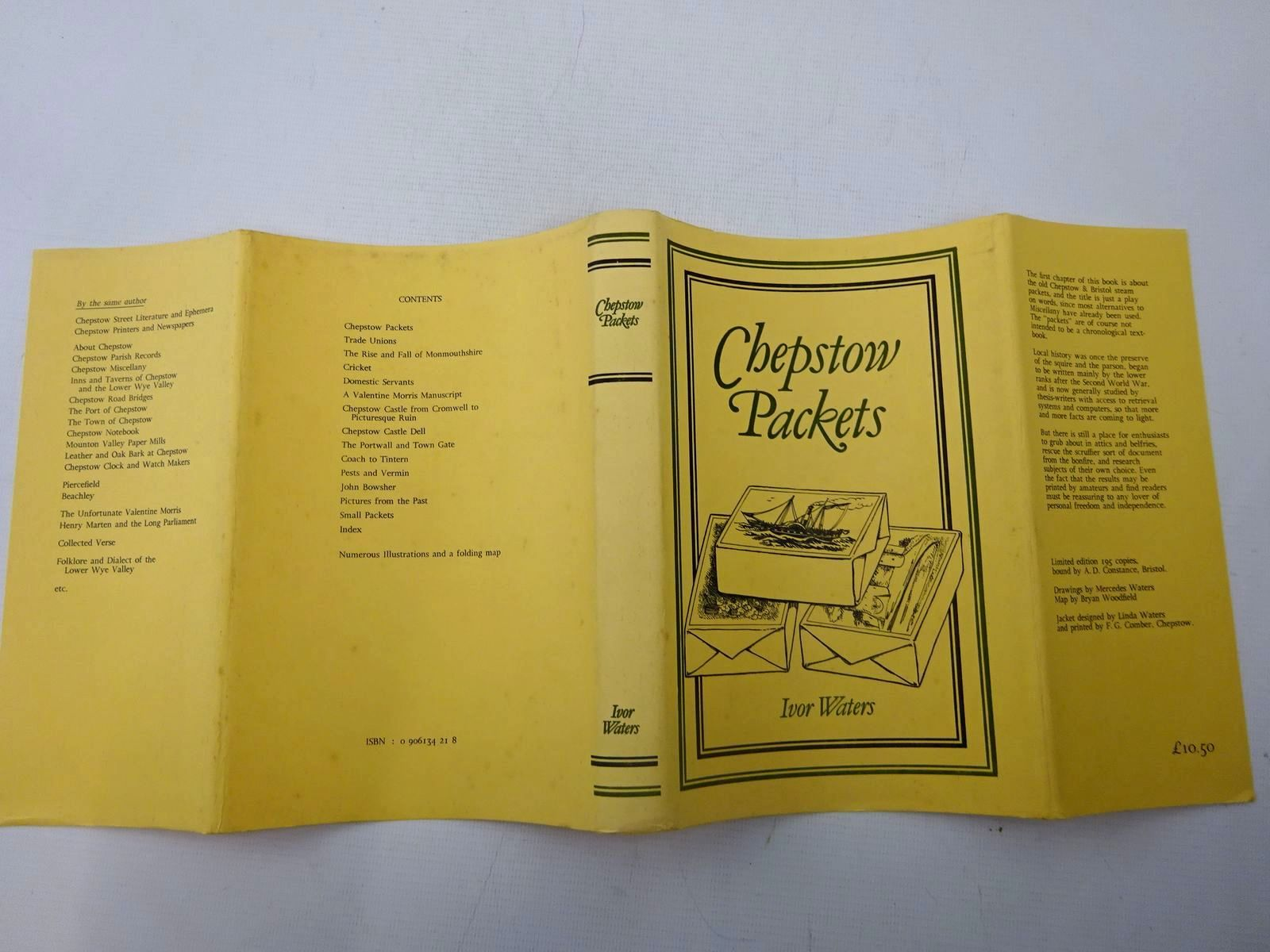 Photo of CHEPSTOW PACKETS written by Waters, Ivor illustrated by Waters, Mercedes