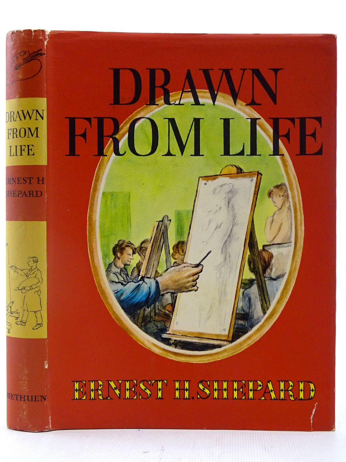 Photo of DRAWN FROM LIFE written by Shepard, E.H. illustrated by Shepard, E.H. published by Methuen & Co. Ltd. (STOCK CODE: 2127241)  for sale by Stella & Rose's Books