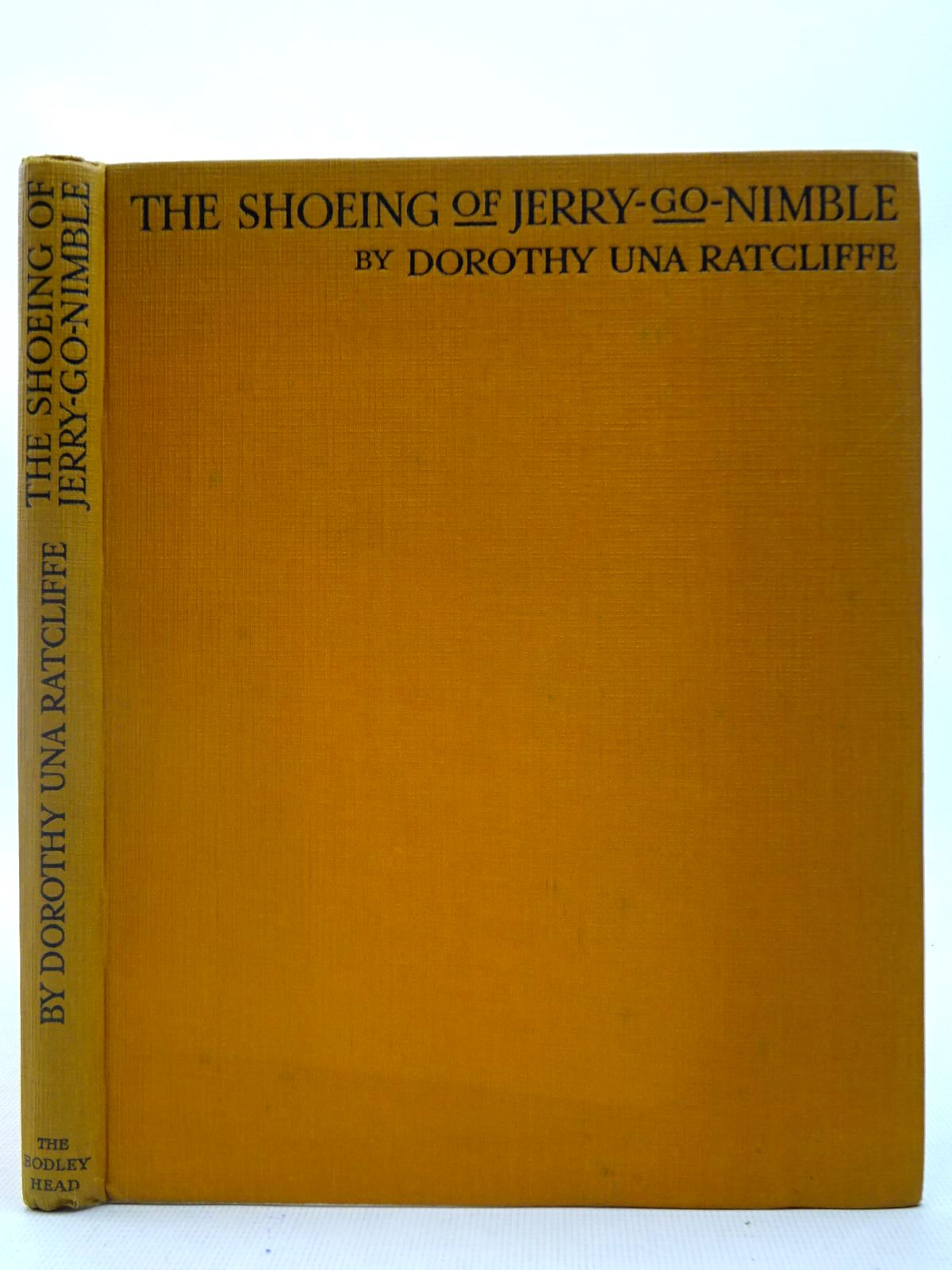 Photo of THE SHOEING OF JERRY-GO-NIMBLE AND OTHER DIALECT POEMS- Stock Number: 2127301
