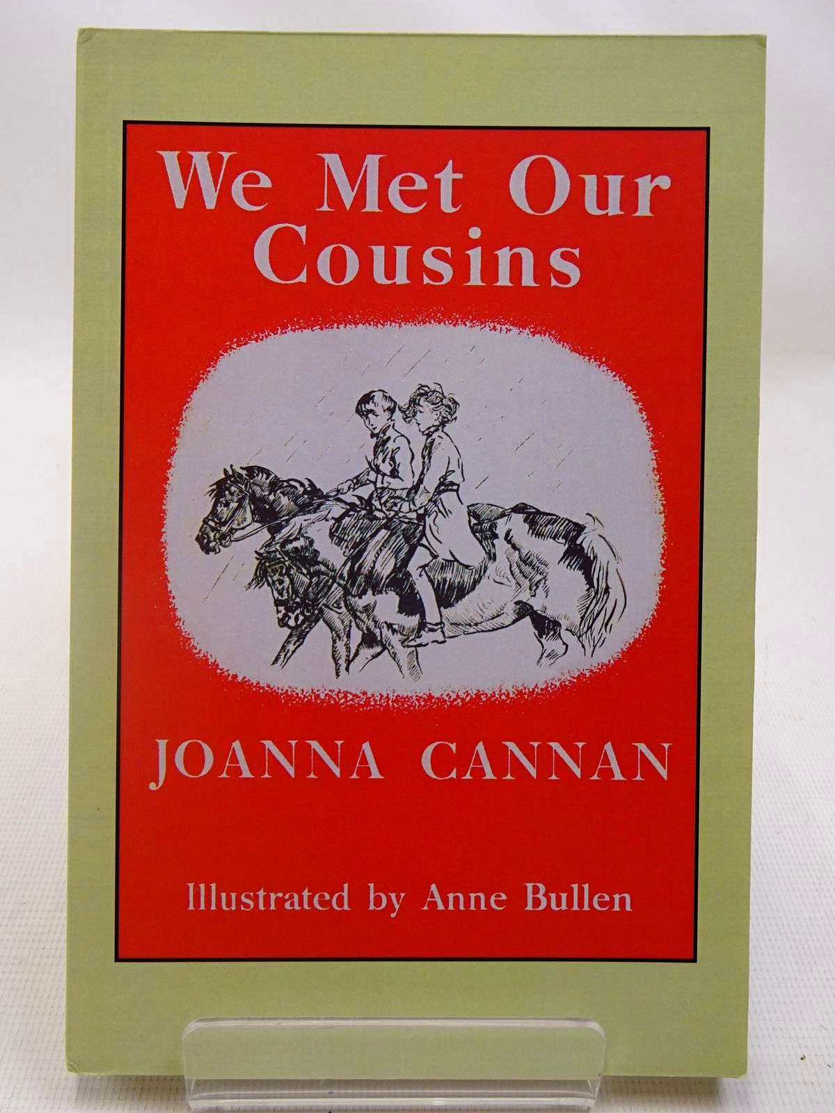 Photo of WE MET OUR COUSINS written by Cannan, Joanna illustrated by Bullen, Anne published by Fidra Books (STOCK CODE: 2127326)  for sale by Stella & Rose's Books