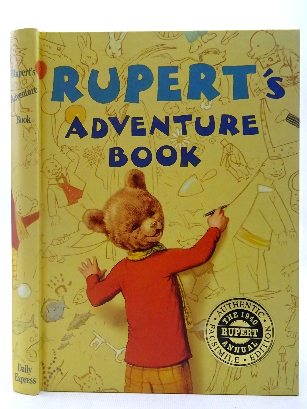 Photo of RUPERT ANNUAL 1940 (FACSIMILE) - RUPERT'S ADVENTURE BOOK written by Bestall, Alfred illustrated by Bestall, Alfred published by Annual Concepts Limited (STOCK CODE: 2127328)  for sale by Stella & Rose's Books