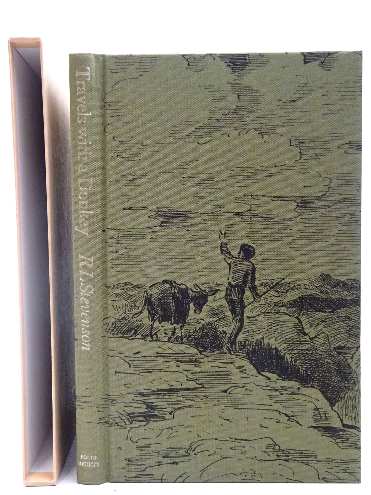 Photo of TRAVELS WITH A DONKEY IN THE CEVENNES written by Stevenson, Robert Louis illustrated by Ardizzone, Edward published by Folio Society (STOCK CODE: 2127344)  for sale by Stella & Rose's Books