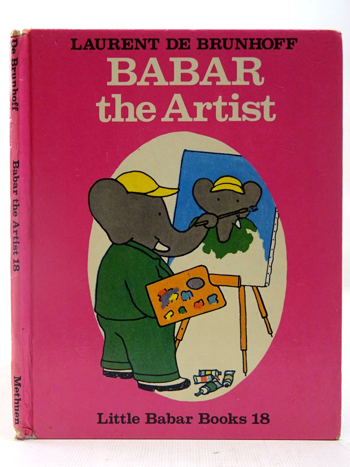 Photo of BABAR THE ARTIST written by De Brunhoff, Laurent illustrated by De Brunhoff, Laurent published by Methuen Children's Books (STOCK CODE: 2127364)  for sale by Stella & Rose's Books