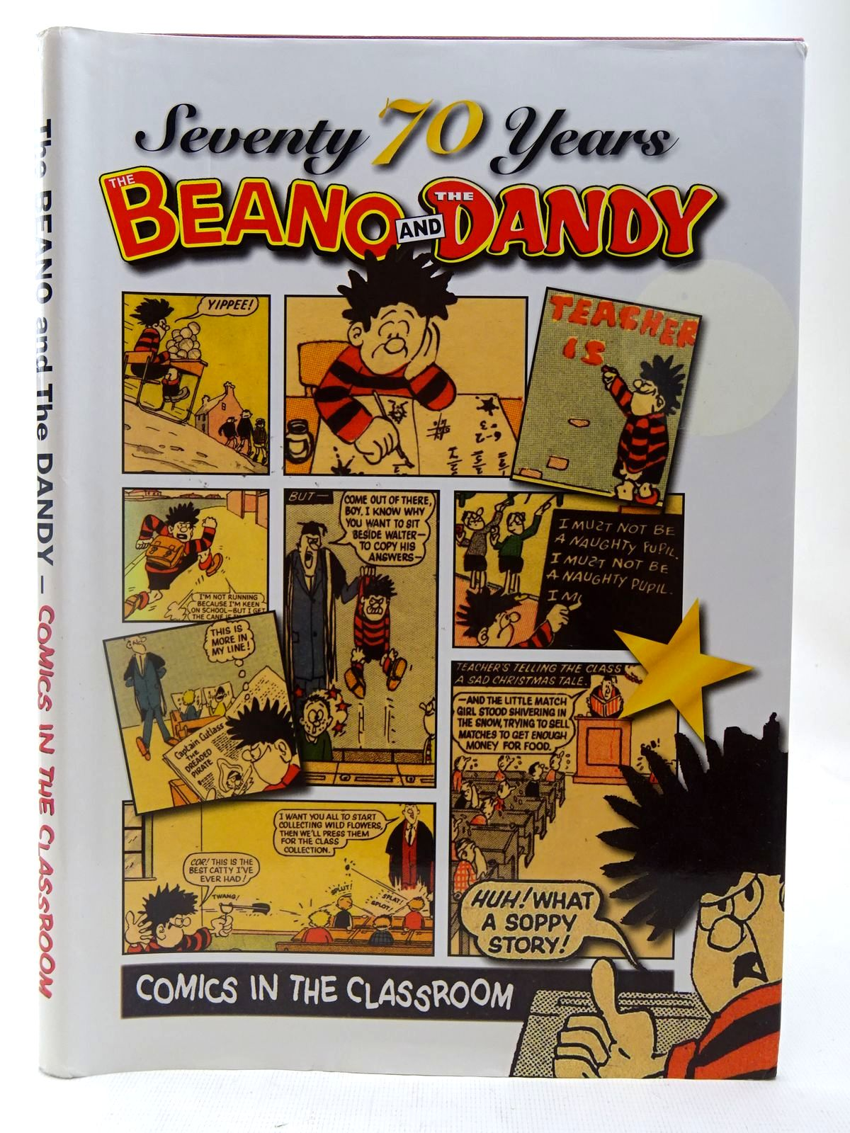 Photo of THE BEANO AND THE DANDY - SEVENTY 70 YEARS - COMICS IN THE CLASSROOM- Stock Number: 2127372