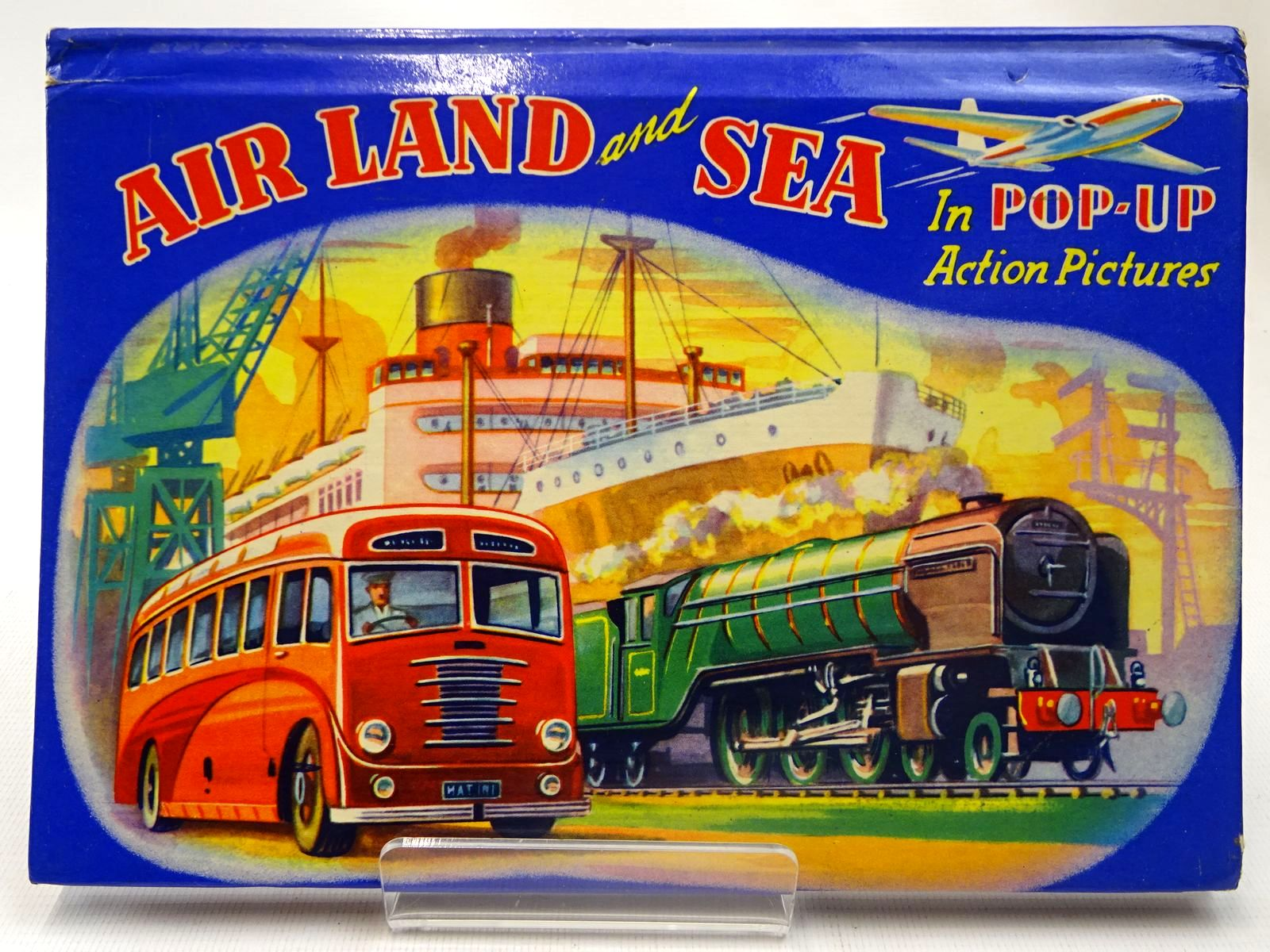 Photo of AIR LAND AND SEA IN POP-UP ACTION PICTURES published by Purnell & Sons, Ltd. (STOCK CODE: 2127388)  for sale by Stella & Rose's Books