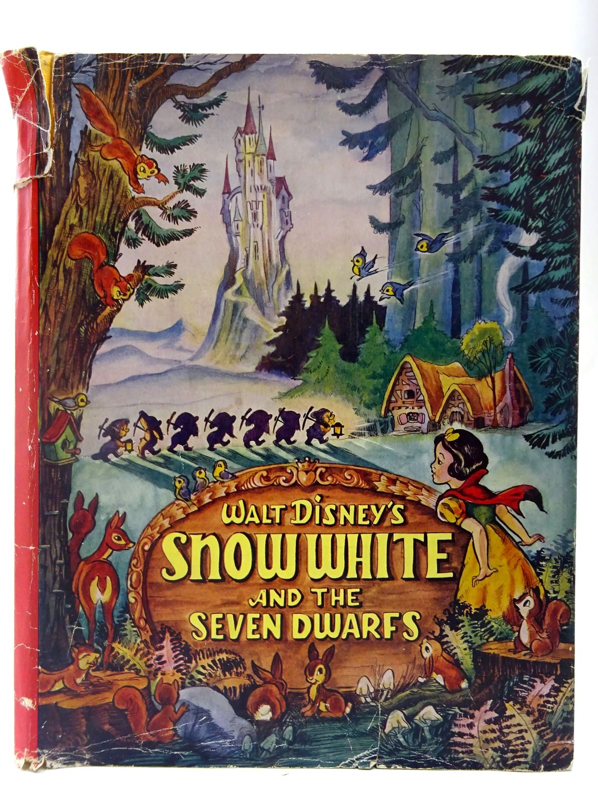 Photo of WALT DISNEY'S SNOW WHITE AND THE SEVEN DWARFS written by Disney, Walt illustrated by Disney, Walt published by Collins (STOCK CODE: 2127398)  for sale by Stella & Rose's Books